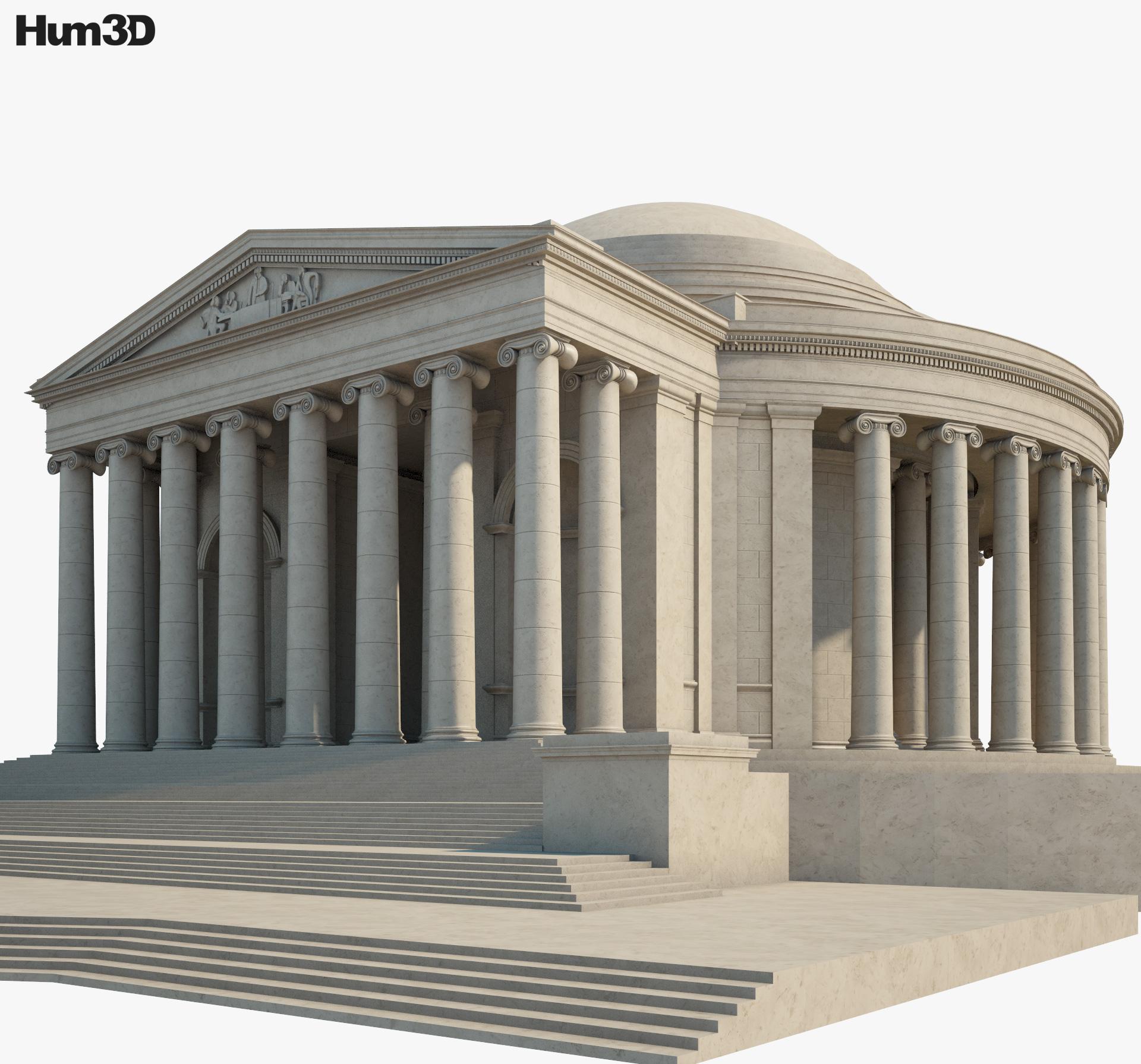 Thomas Jefferson Memorial 3d model