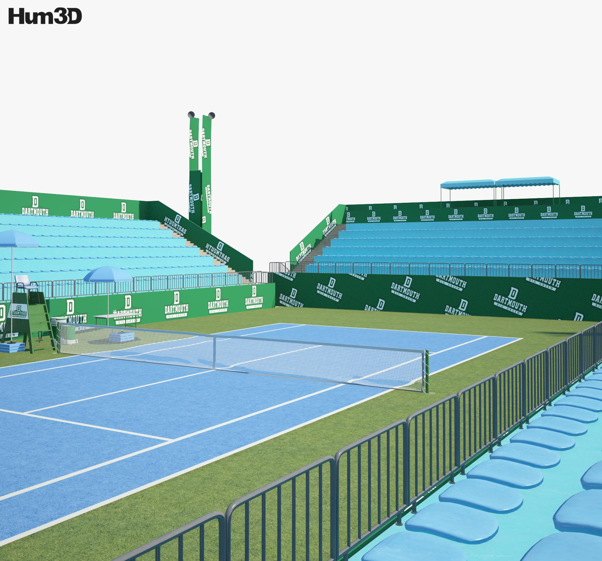 Tennis Arena 3d model
