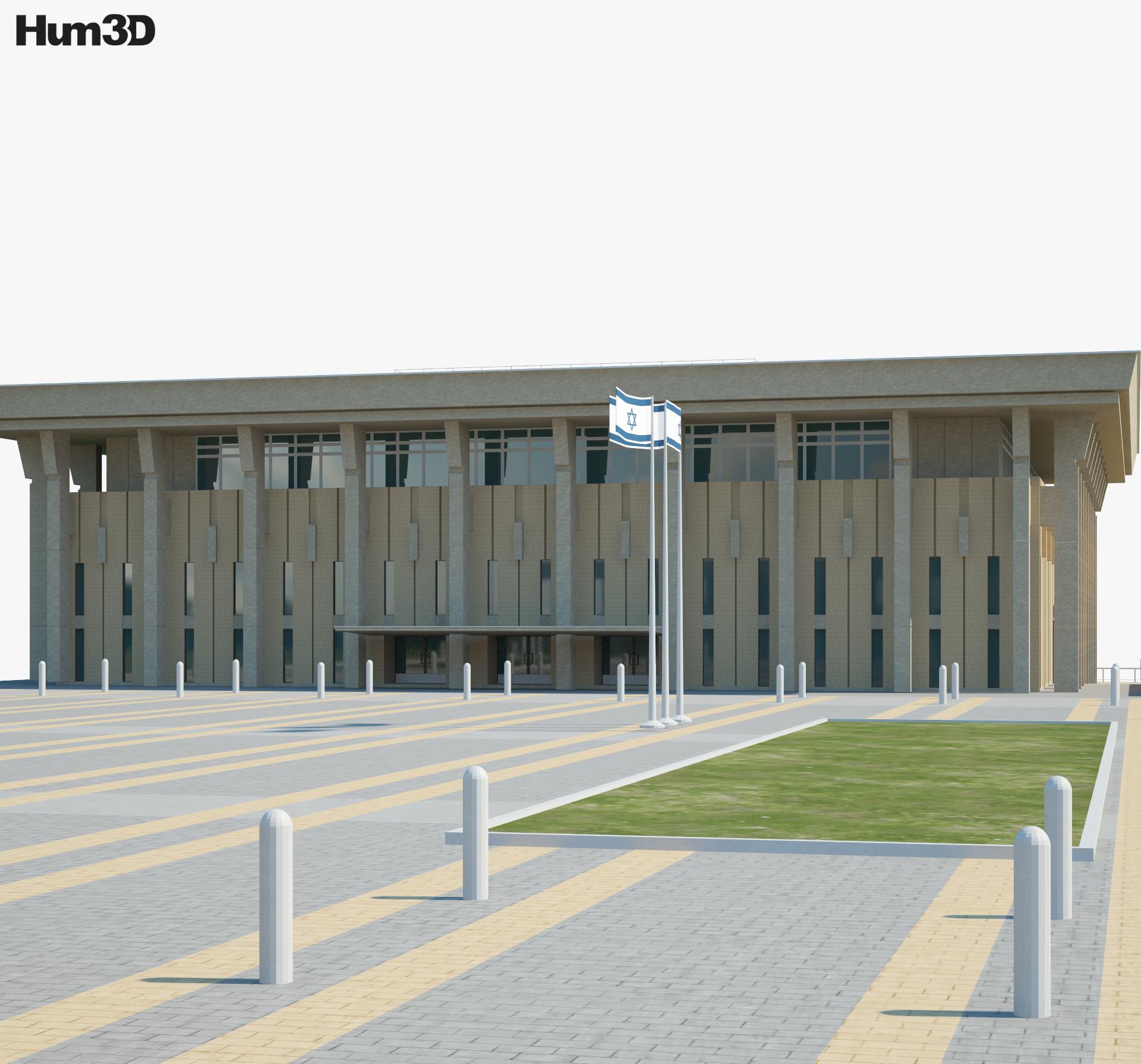 Knesset 3d model