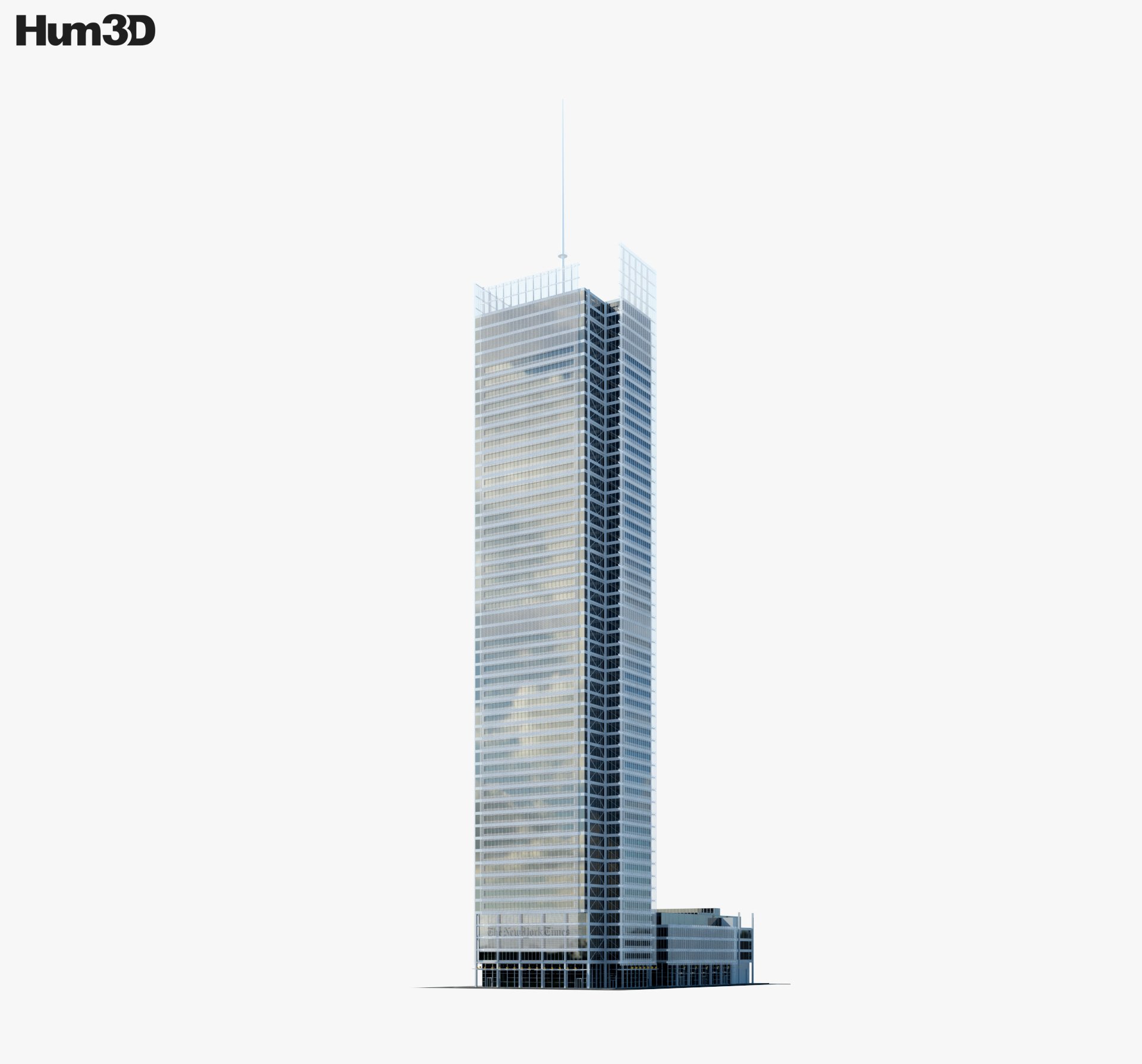 The New York Times Building 3d model