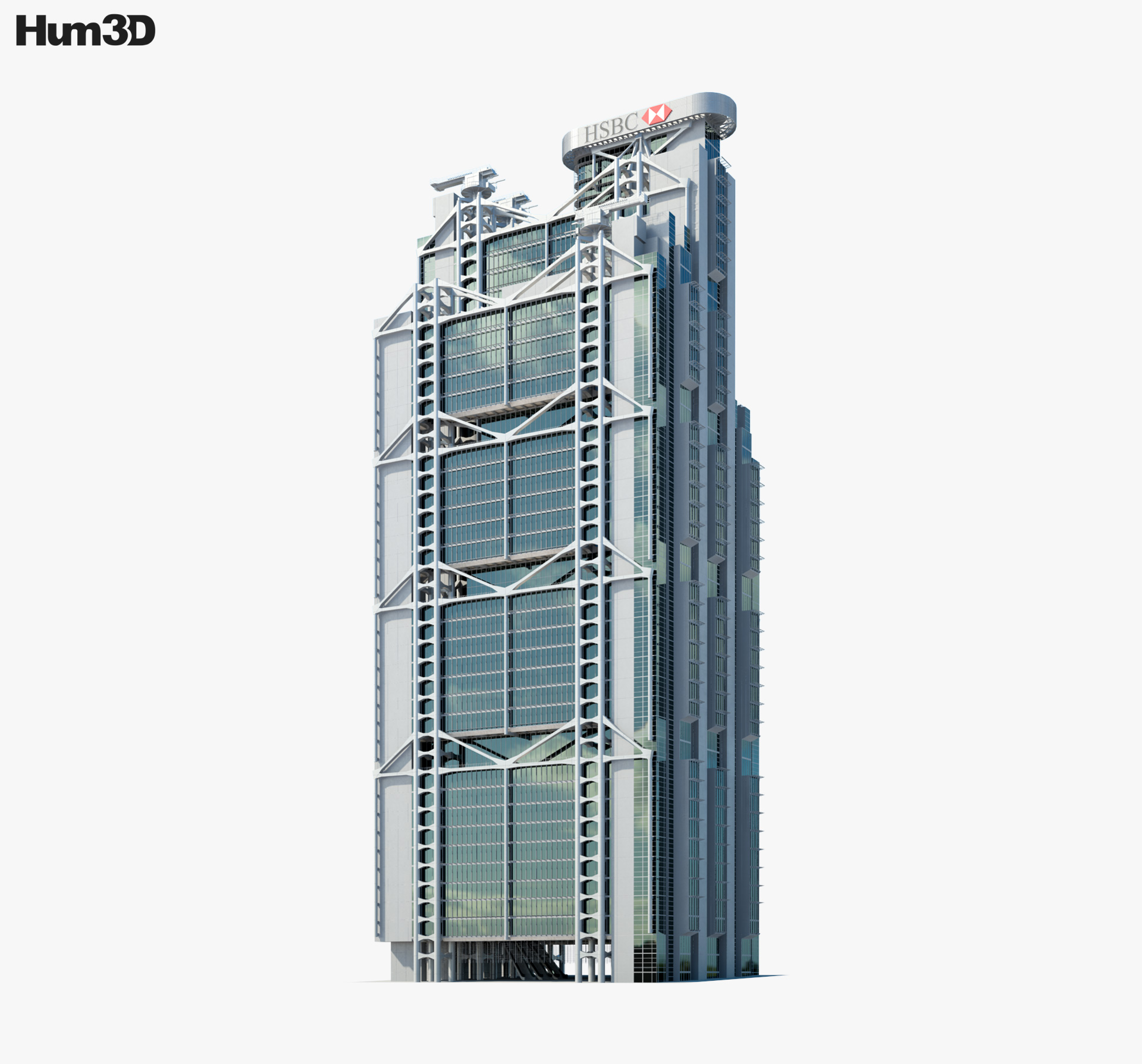 HSBC Main Building 3d model