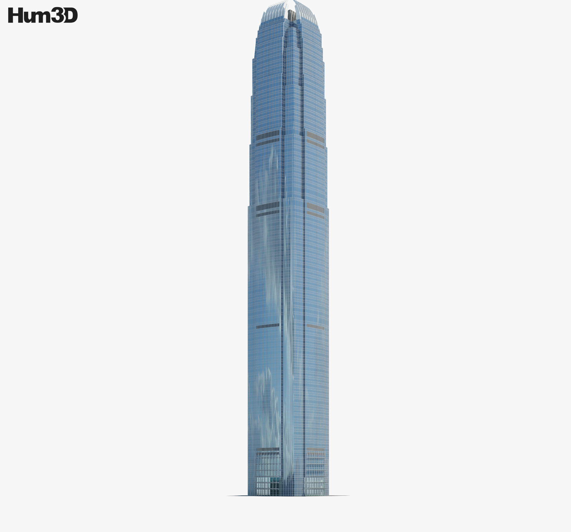 3D model of International Finance Centre