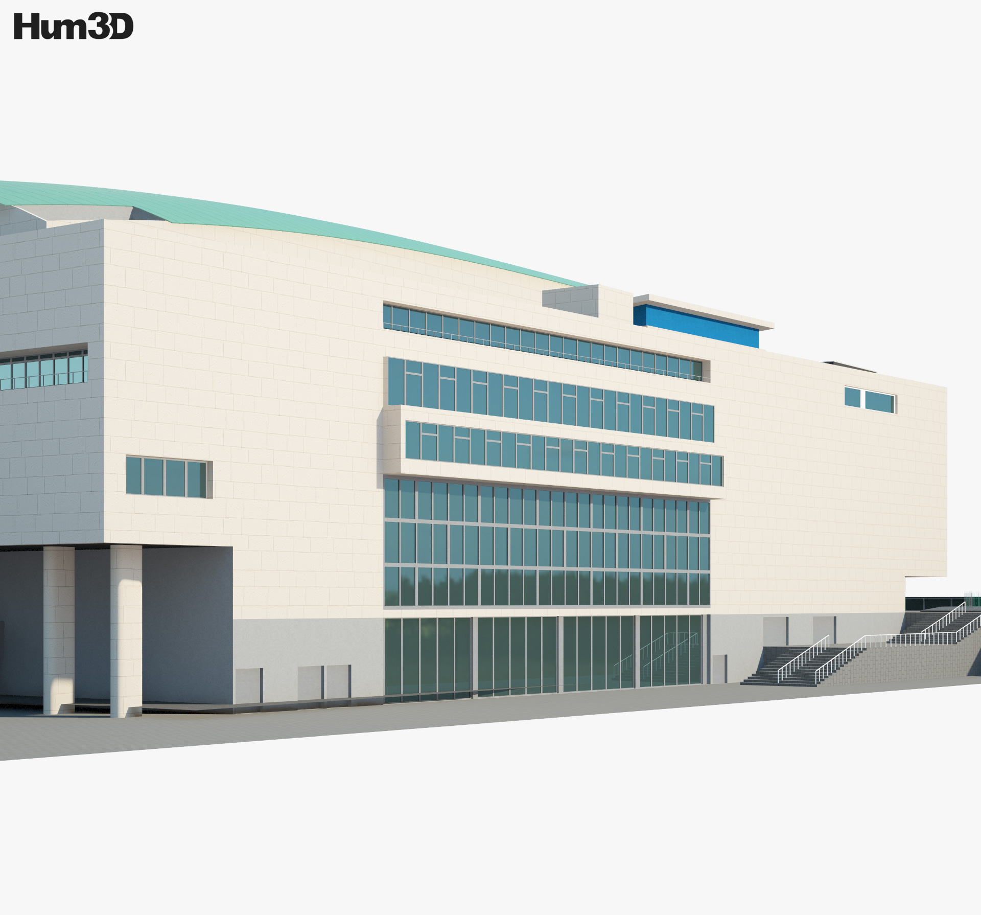 Royal Festival Hall 3d model