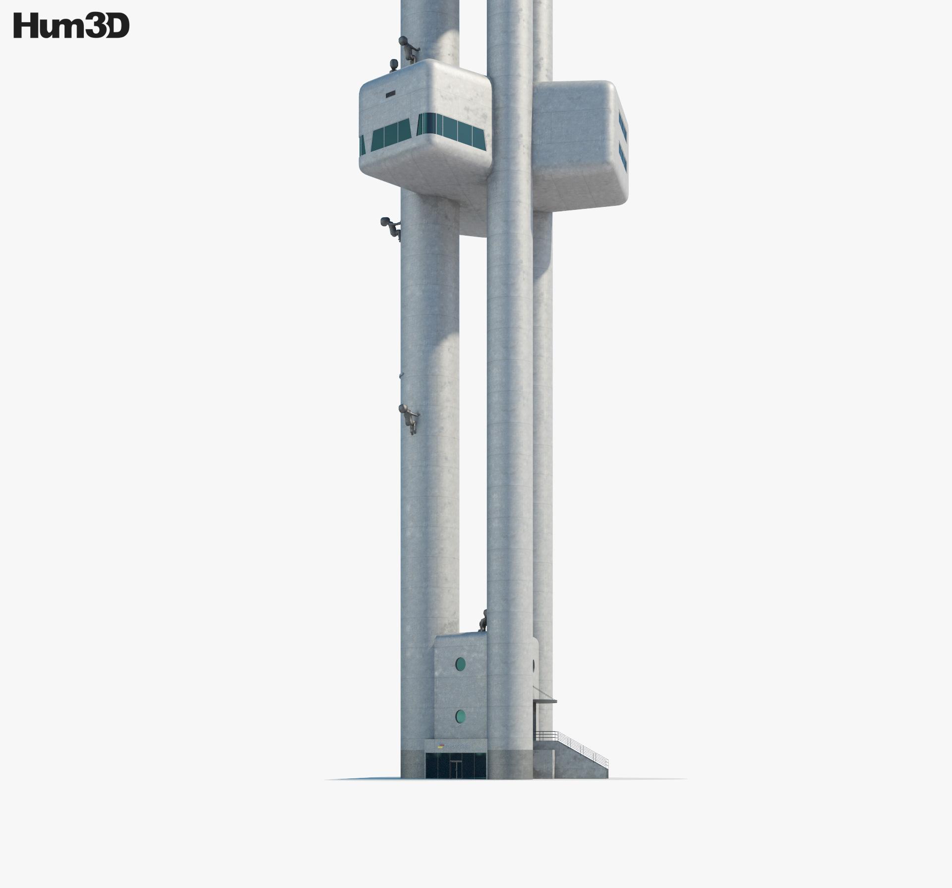Zizkov Tower 3d model