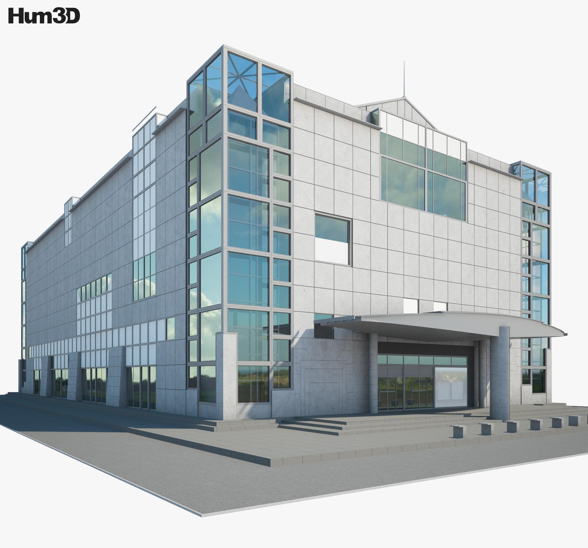 National Museum of Modern Art Kyoto 3d model