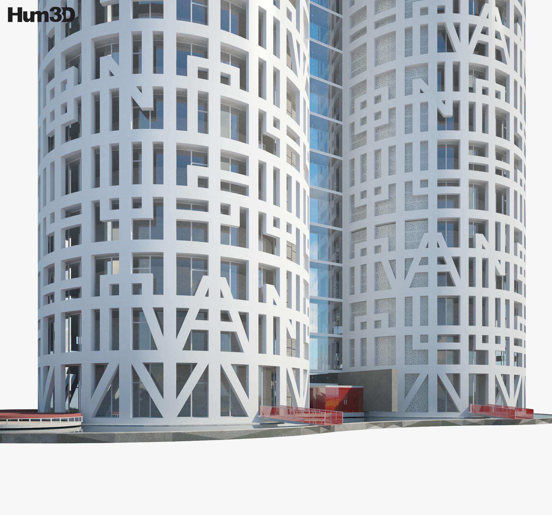 Torres de Hercules 3d model