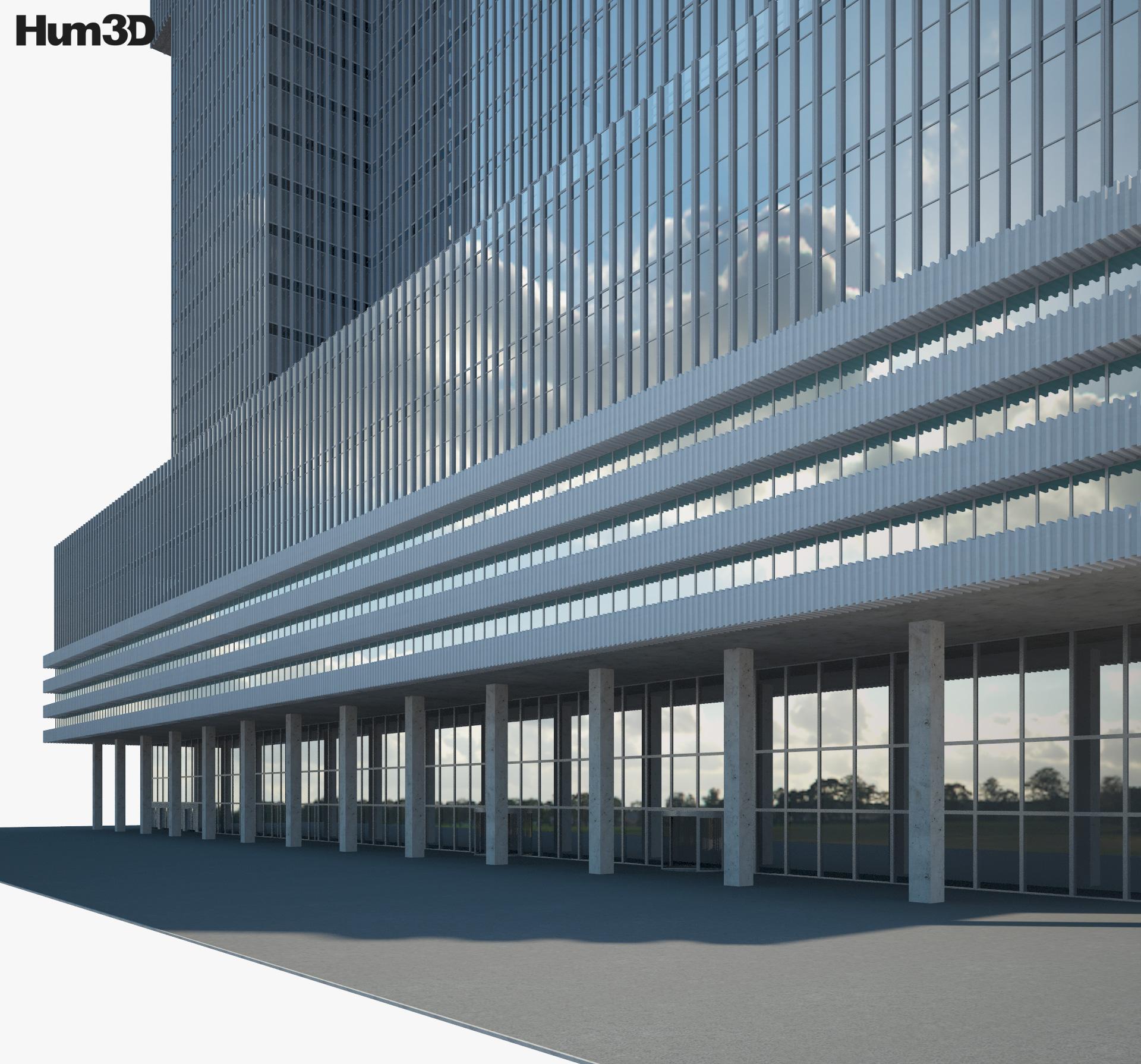De Rotterdam 3d model