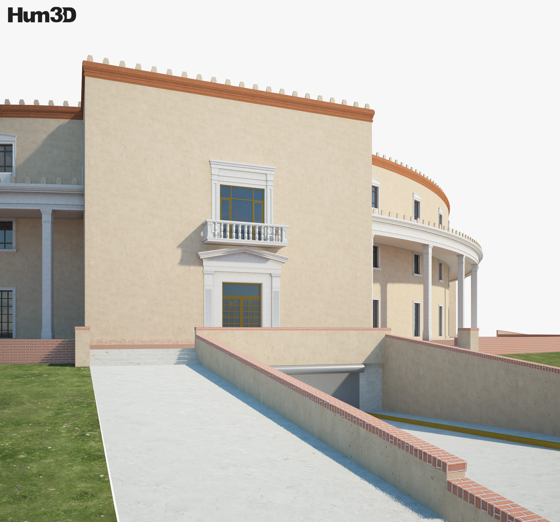 New Mexico State Capitol 3d model