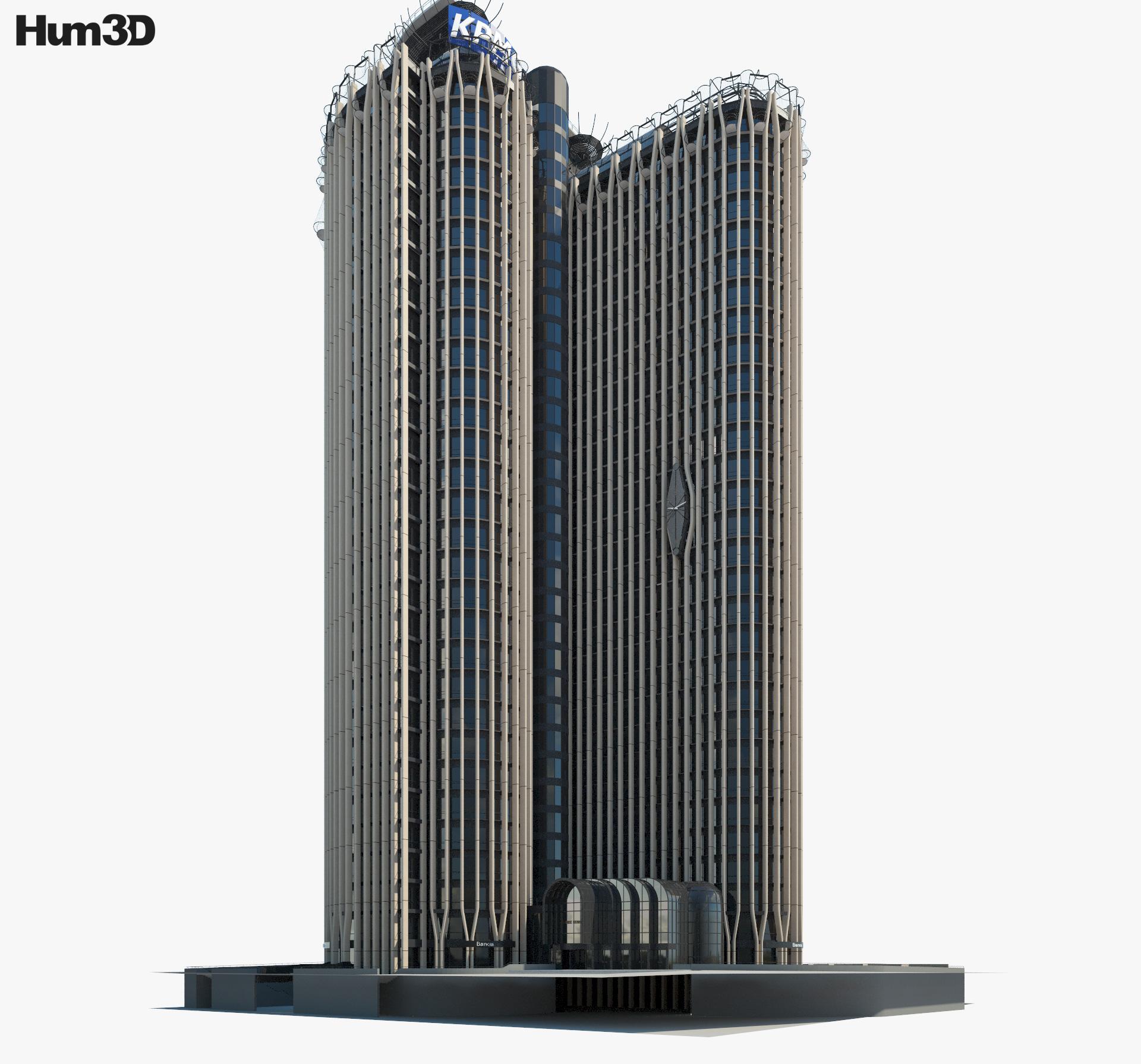Torre Europa 3d model