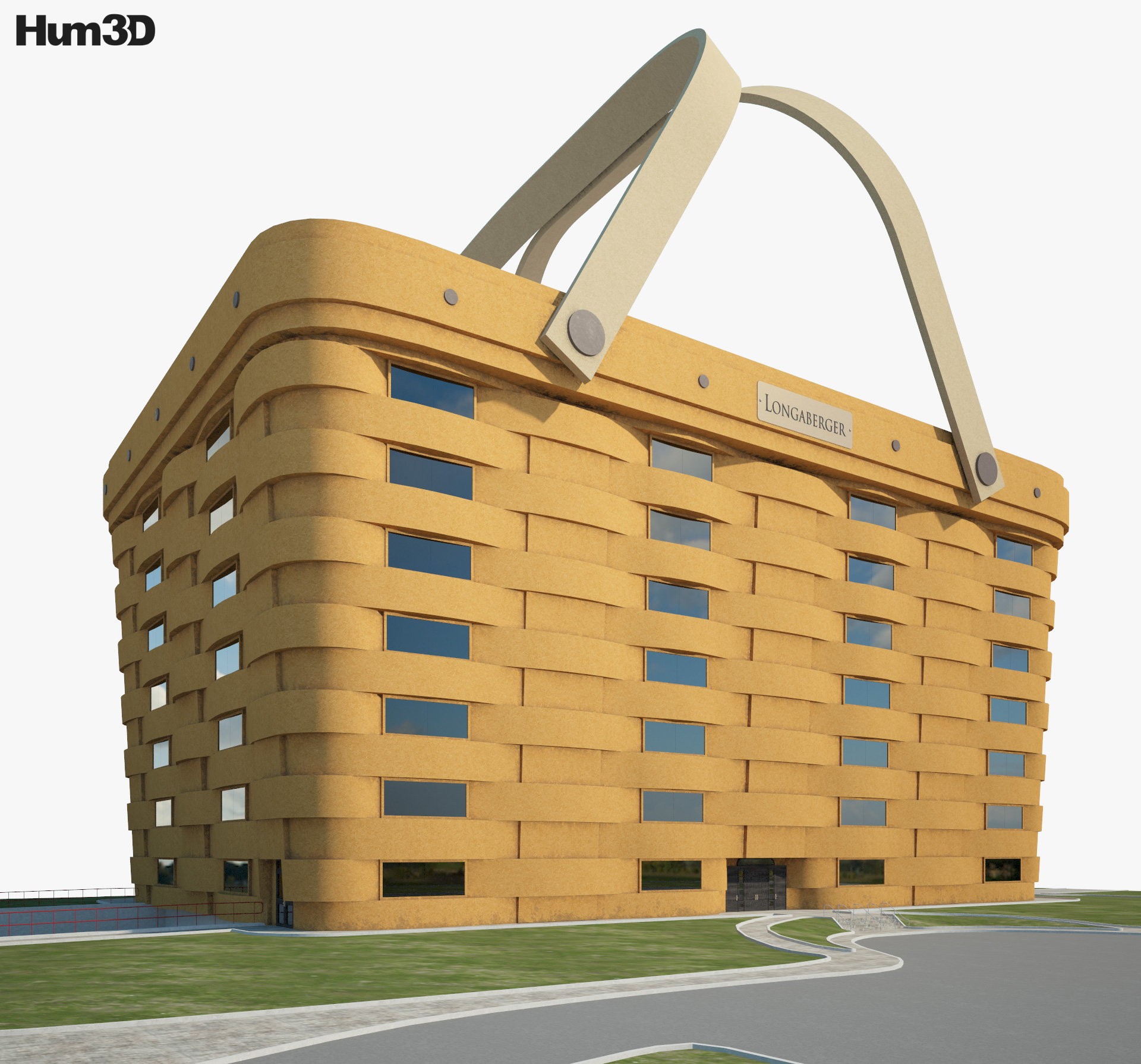 World's Largest Basket 3d model