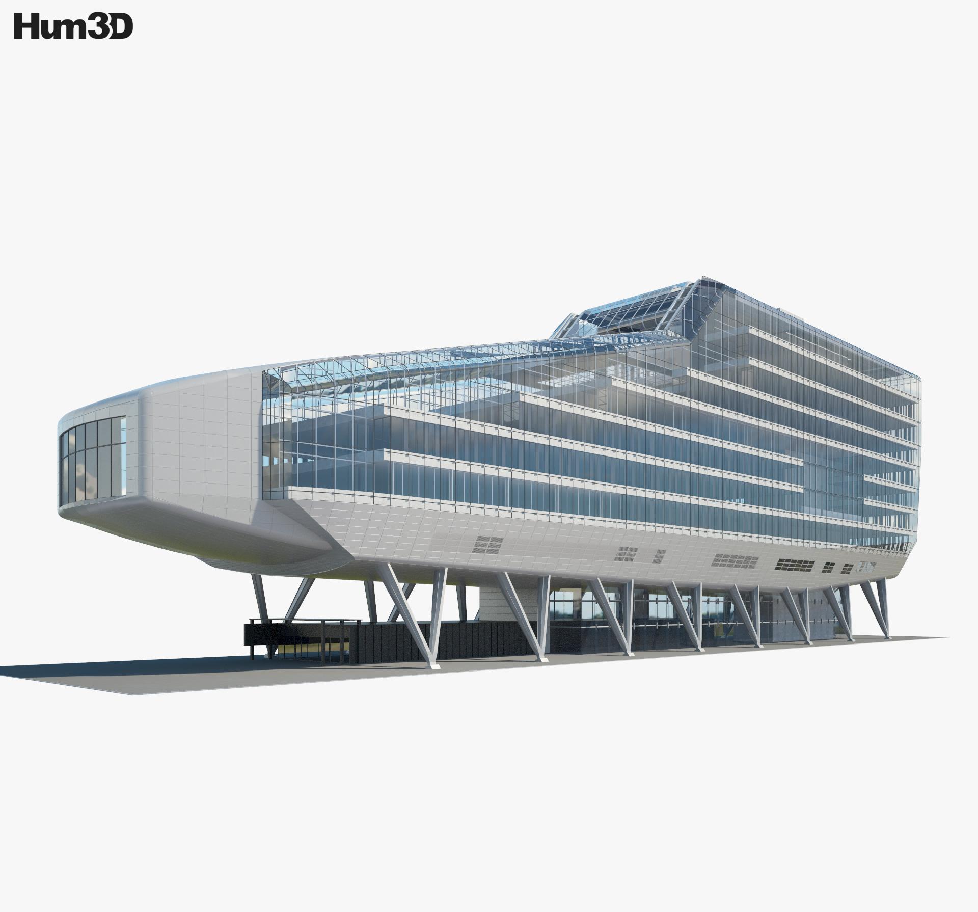 ING House 3d model