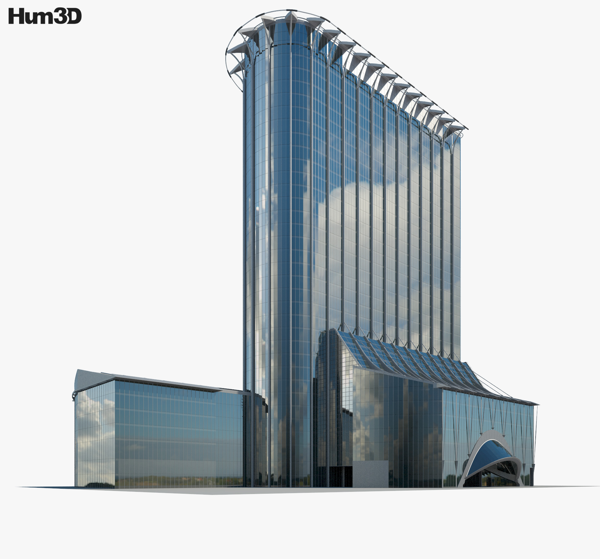 CityPoint 3d model
