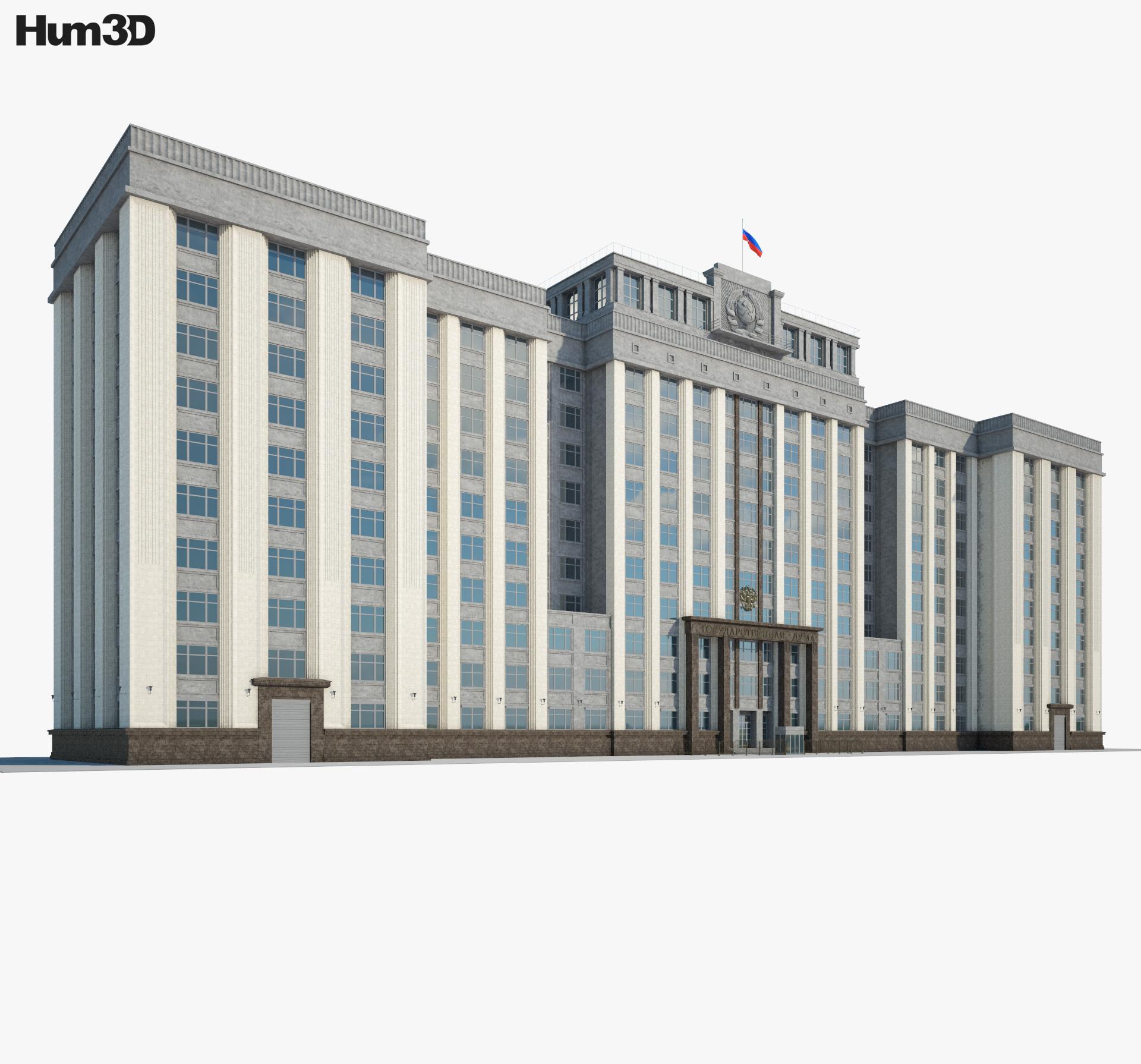 State Duma 3d model