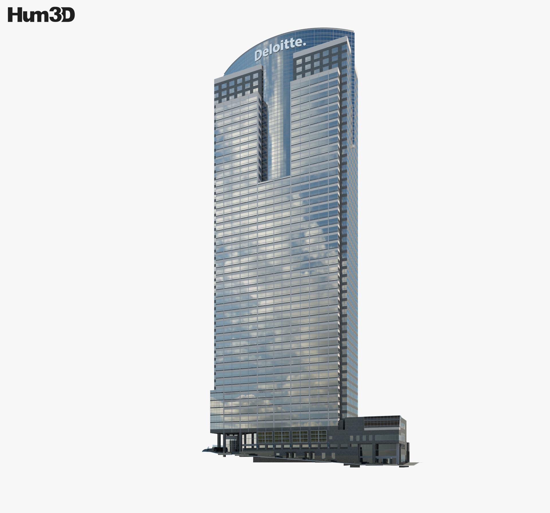 Deloitte Los Angeles 3d model