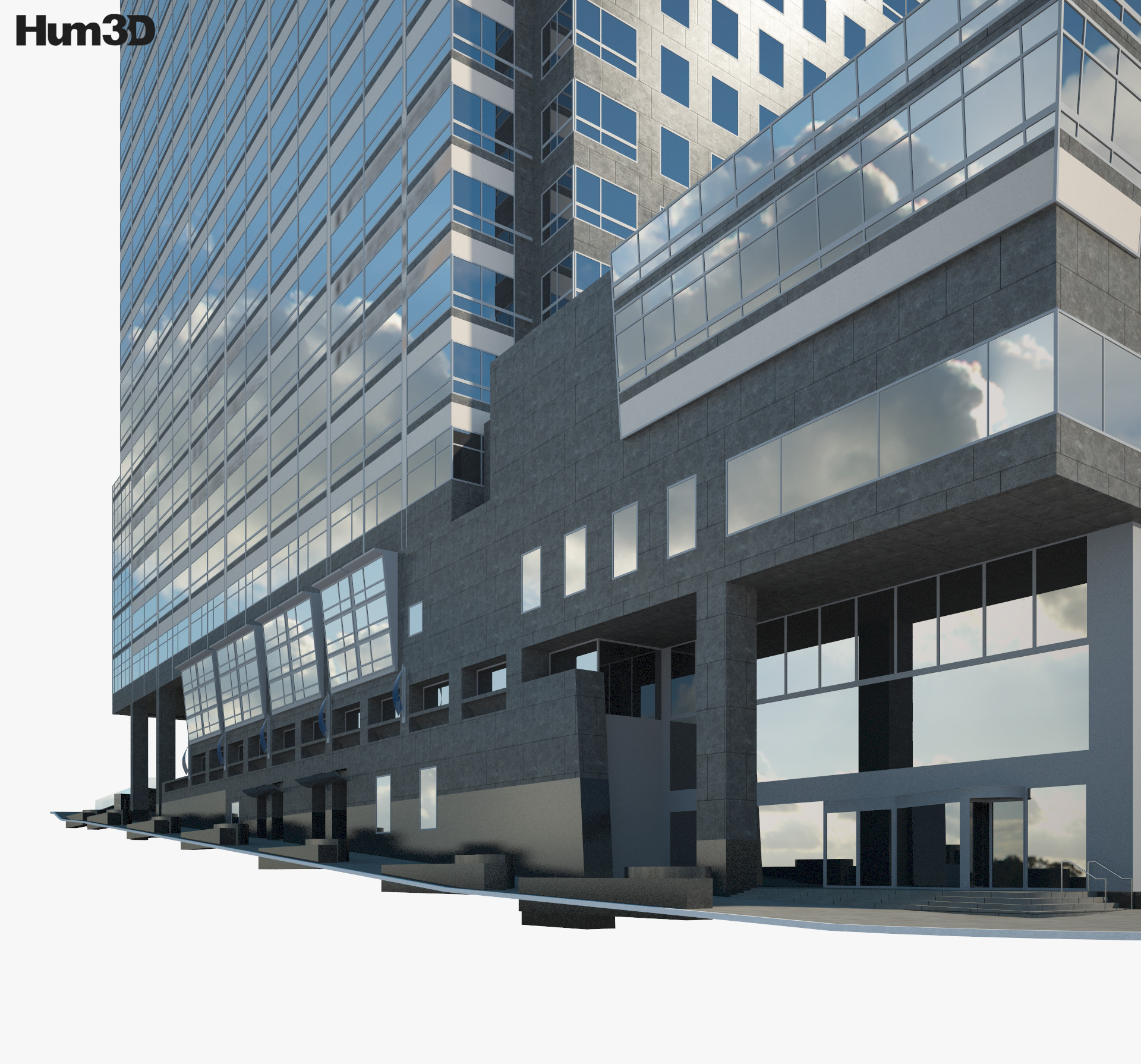 Deloitte Los Angeles 3d model