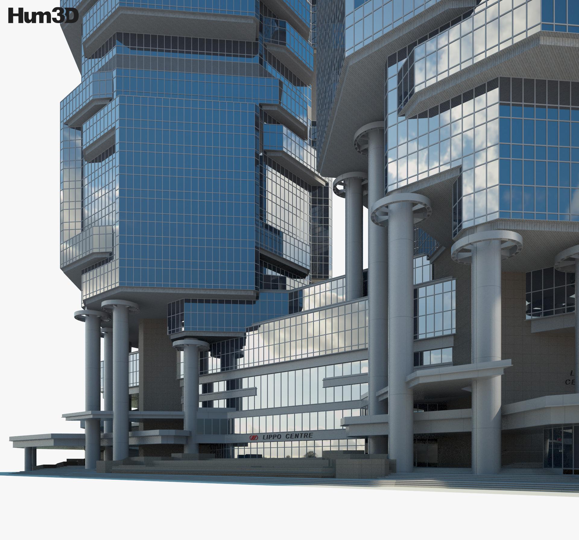 Lippo Centre 3d model