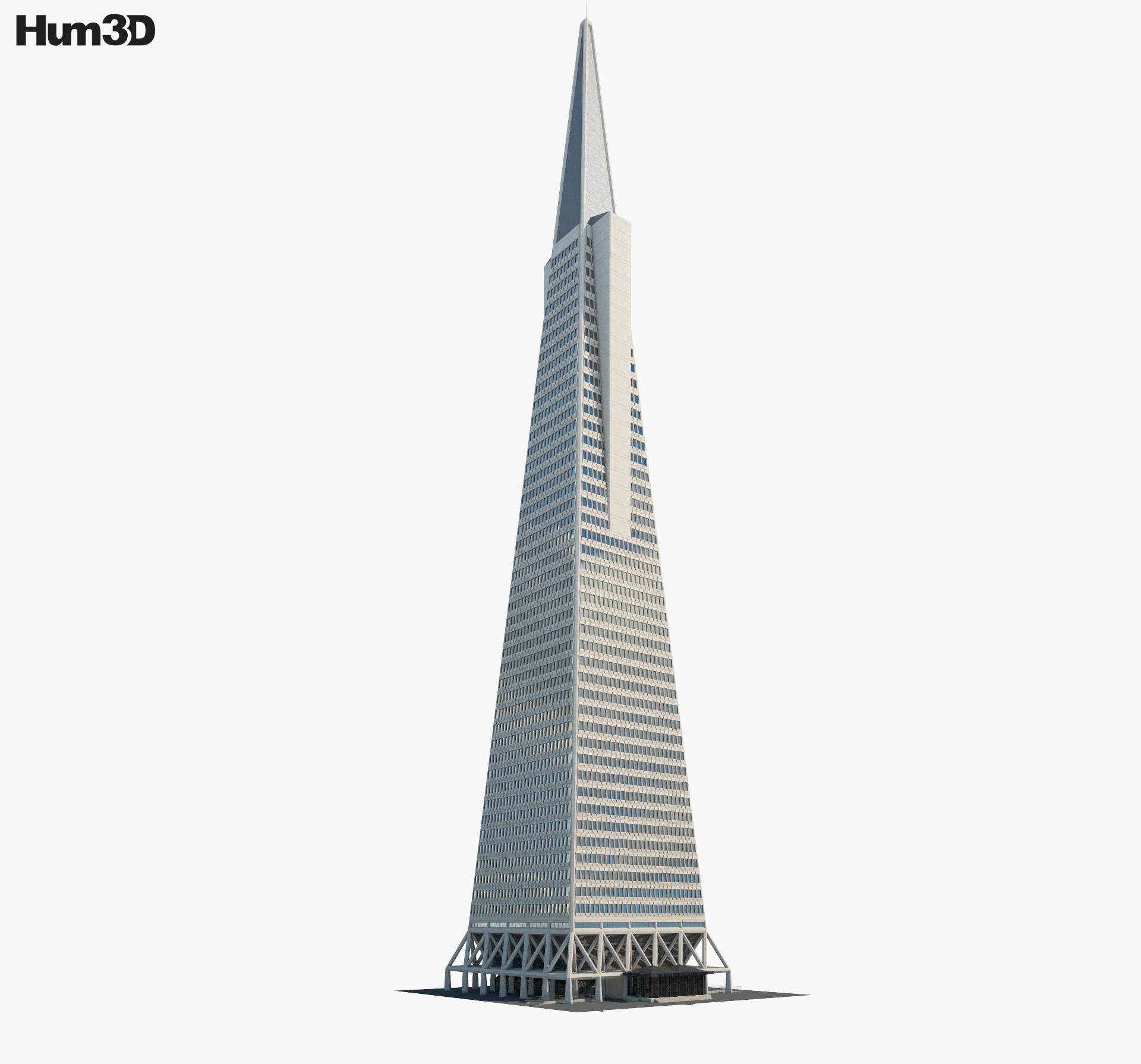 3D model of Transamerica Pyramid