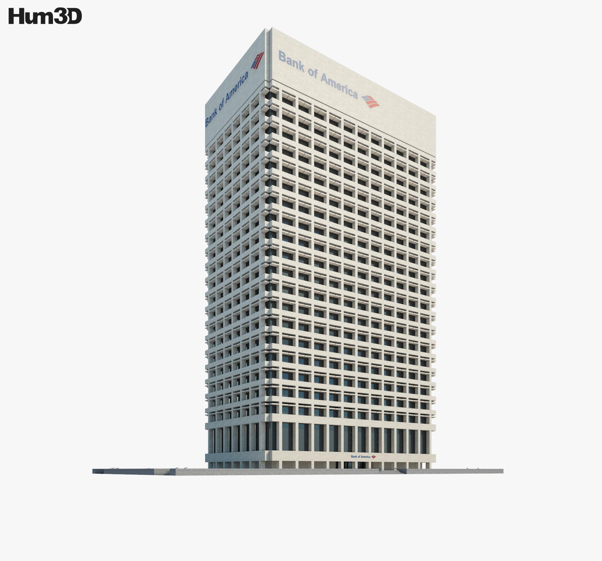Bank of America Center Norfolk 3d model