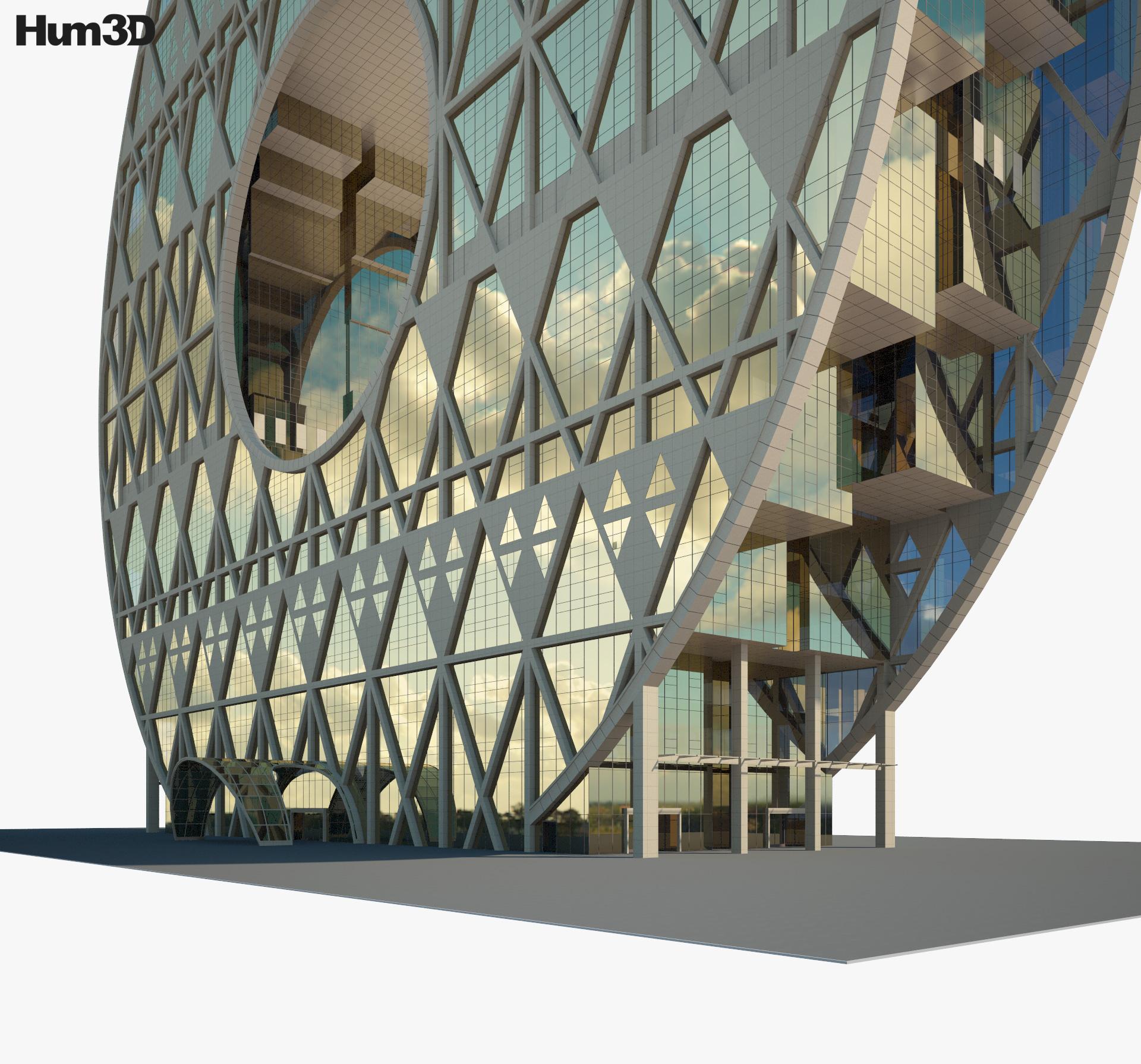 Guangzhou Circle 3d model
