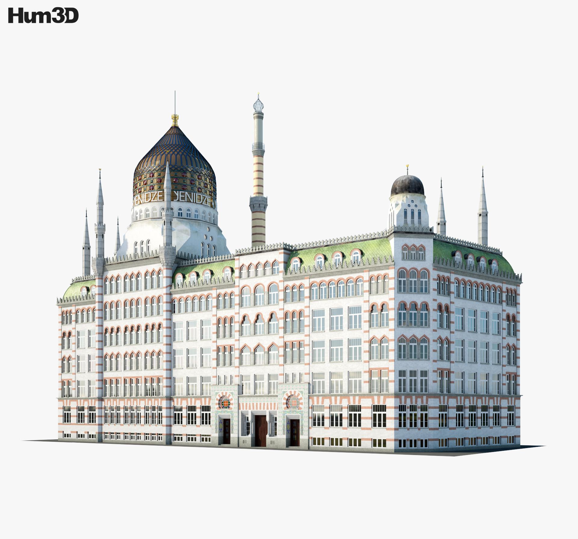 Yenidze 3d model