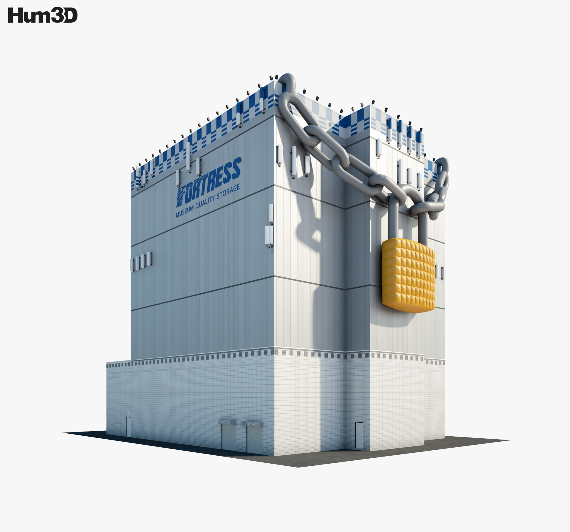Fortress Museum Quality Storage 3d model