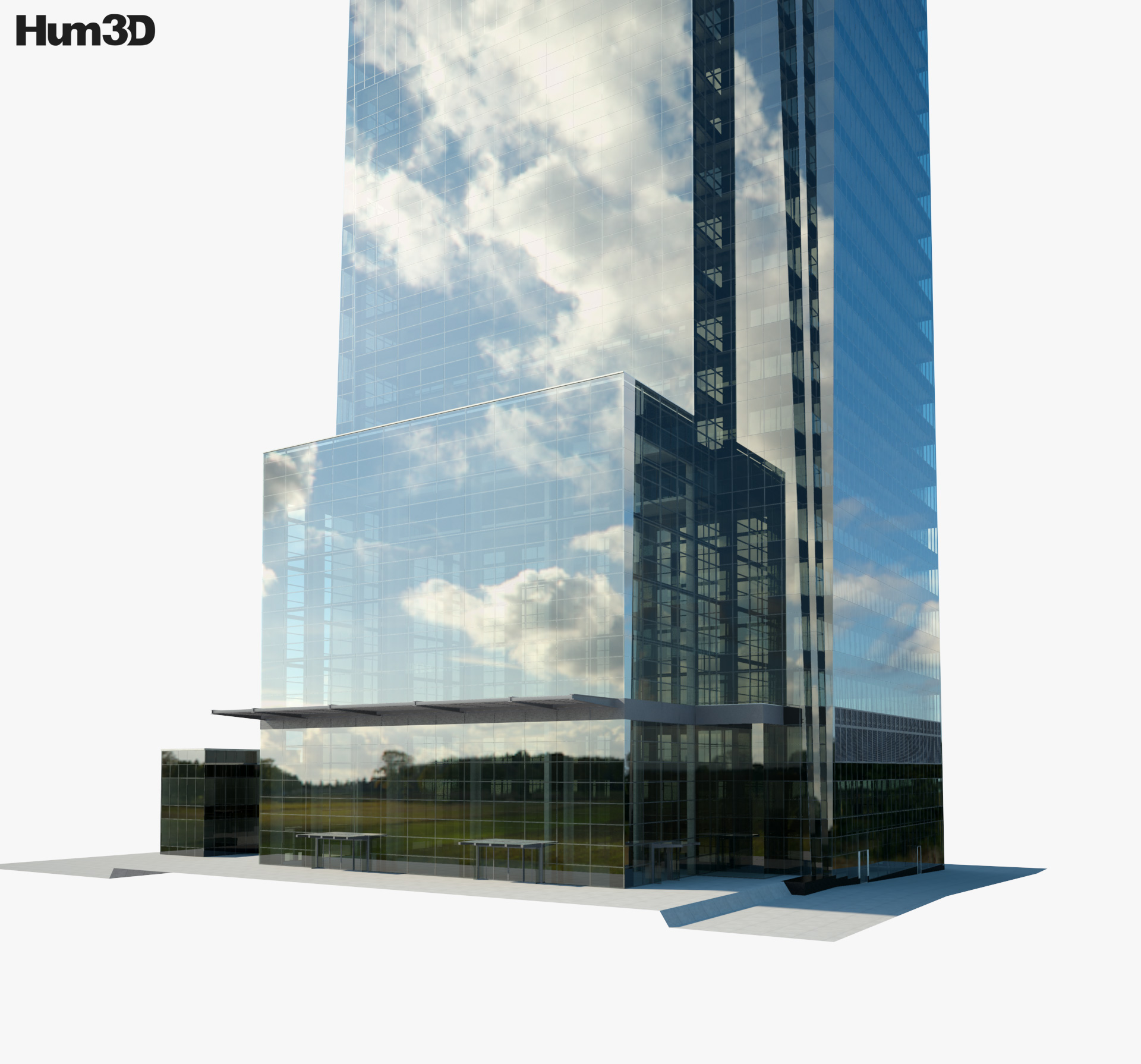 Comcast Center 3d model