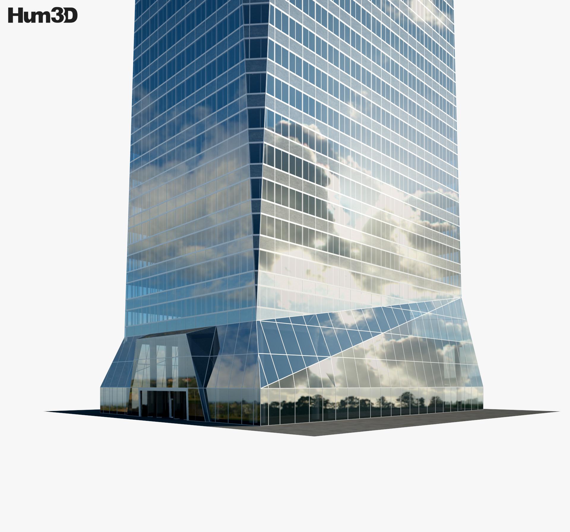 Torre de Cristal 3d model