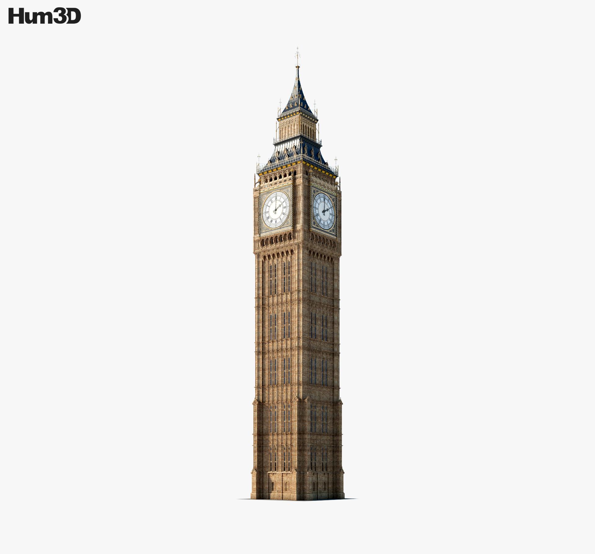 Big Ben 3d model