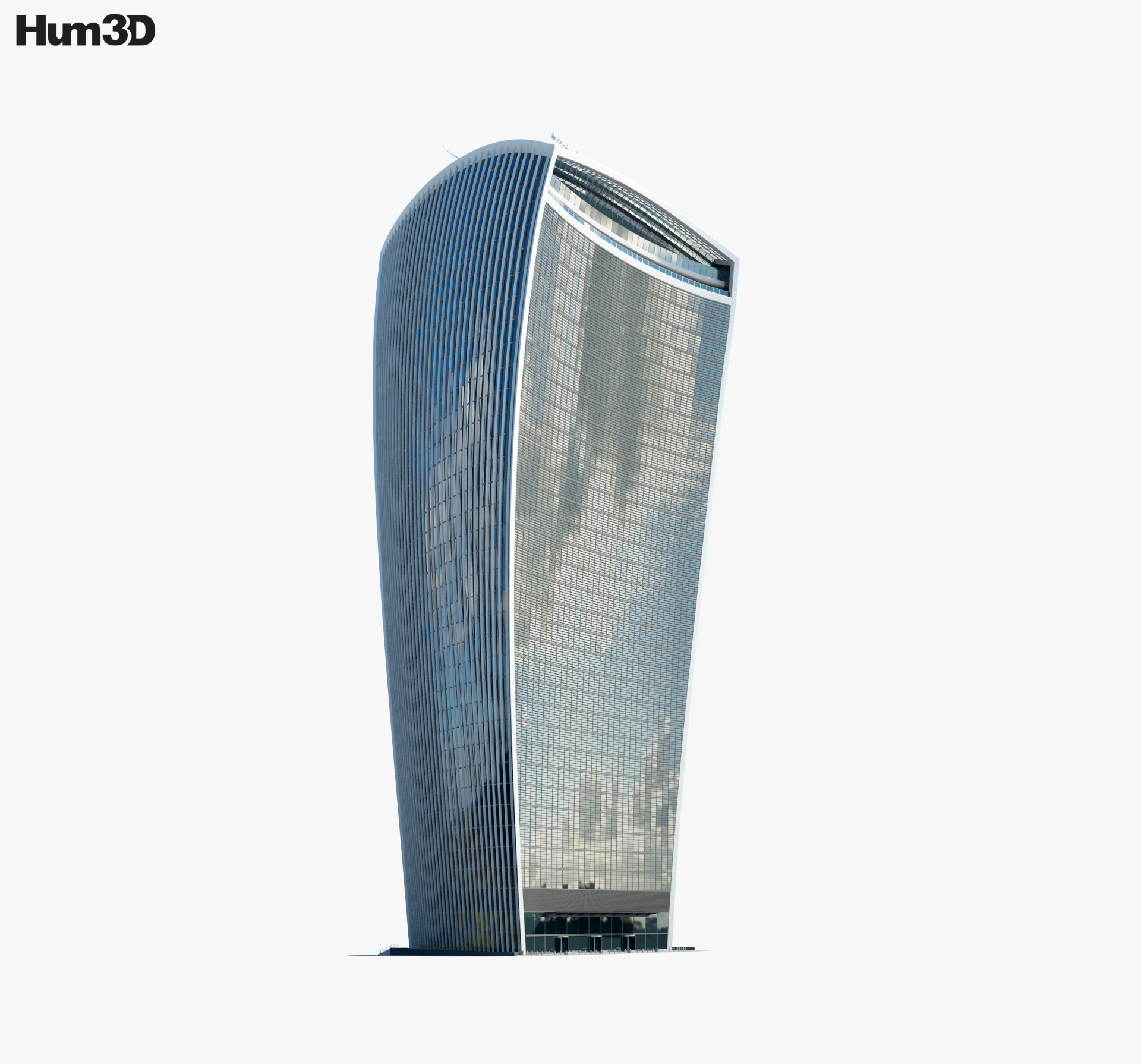 20 Fenchurch Street 3d model