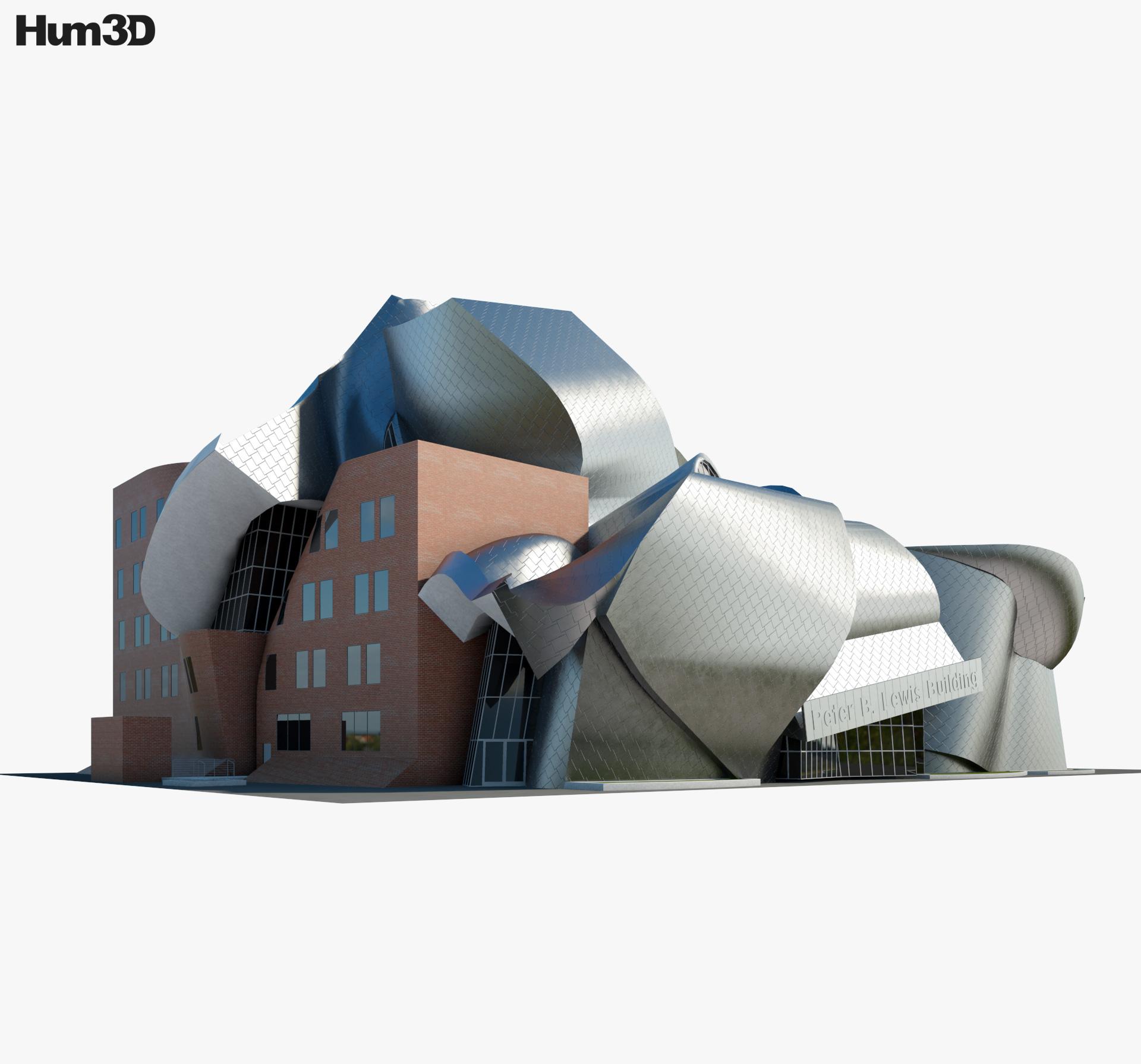 Peter B Lewis Building 3d model