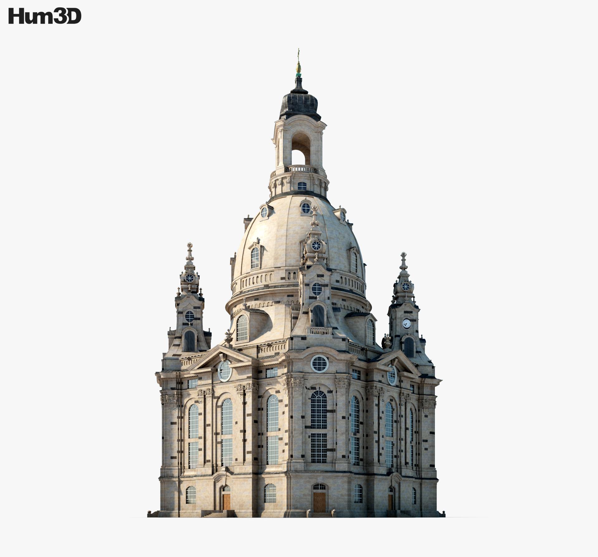 3D model of Dresden Frauenkirche