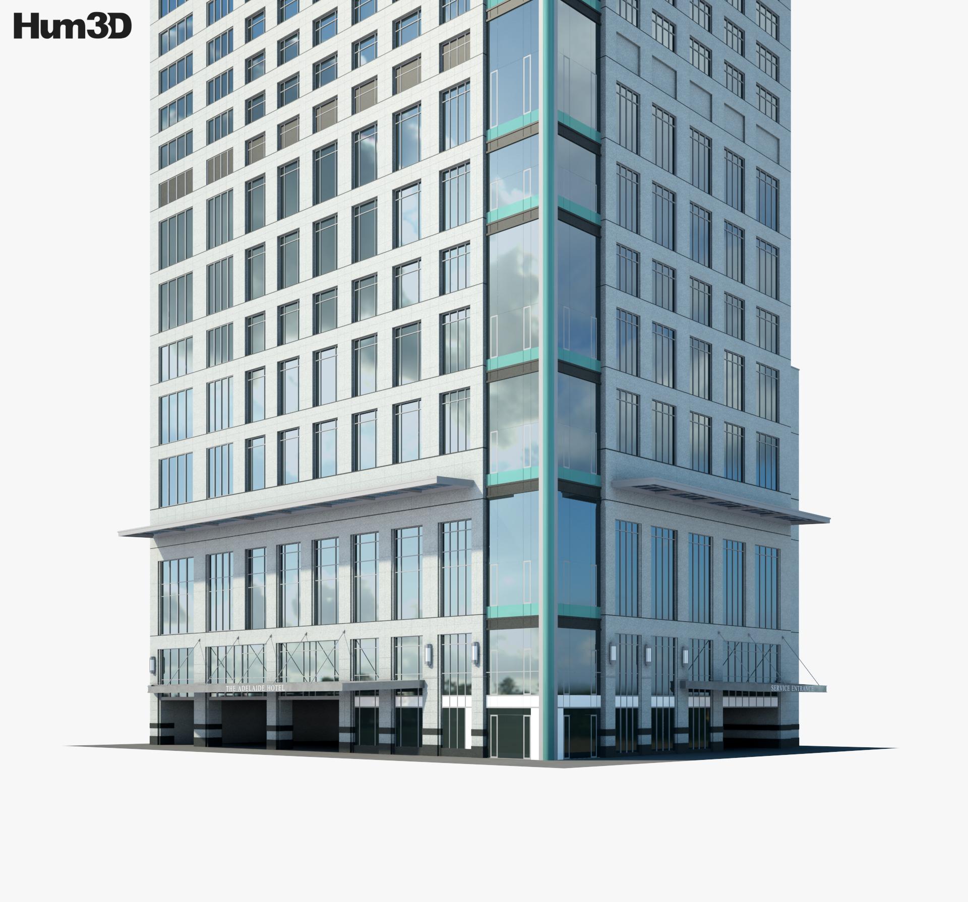 The Adelaide Hotel Toronto 3d model