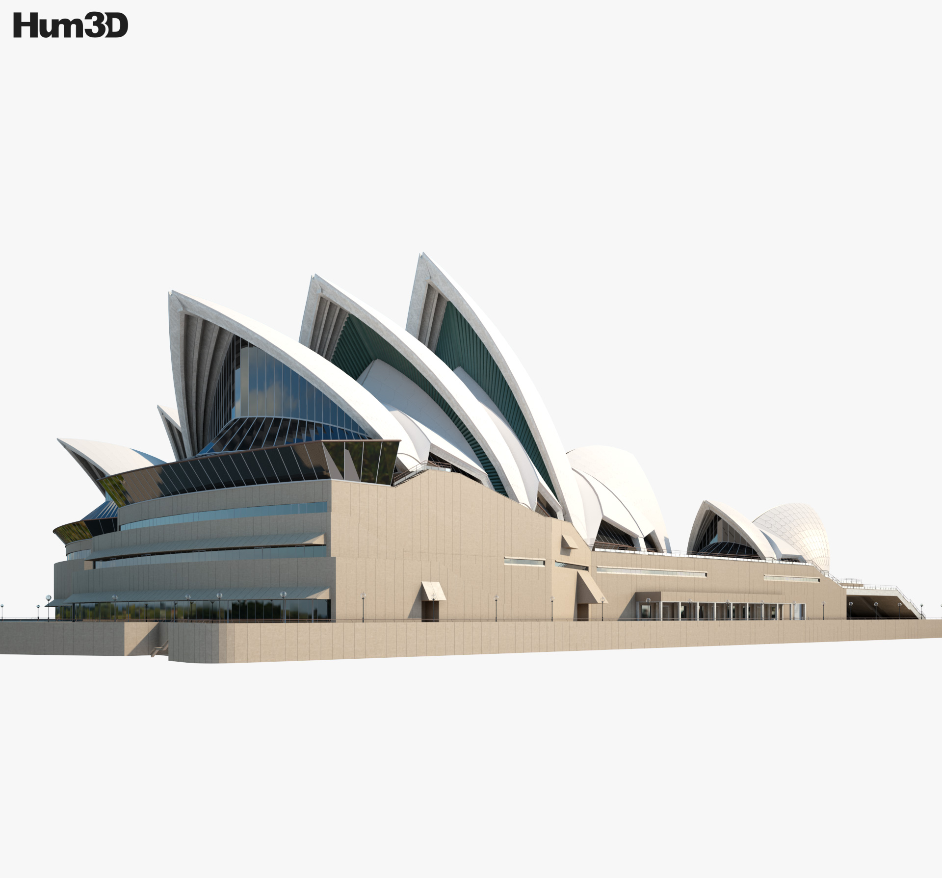 Sydney Opera House 3d model