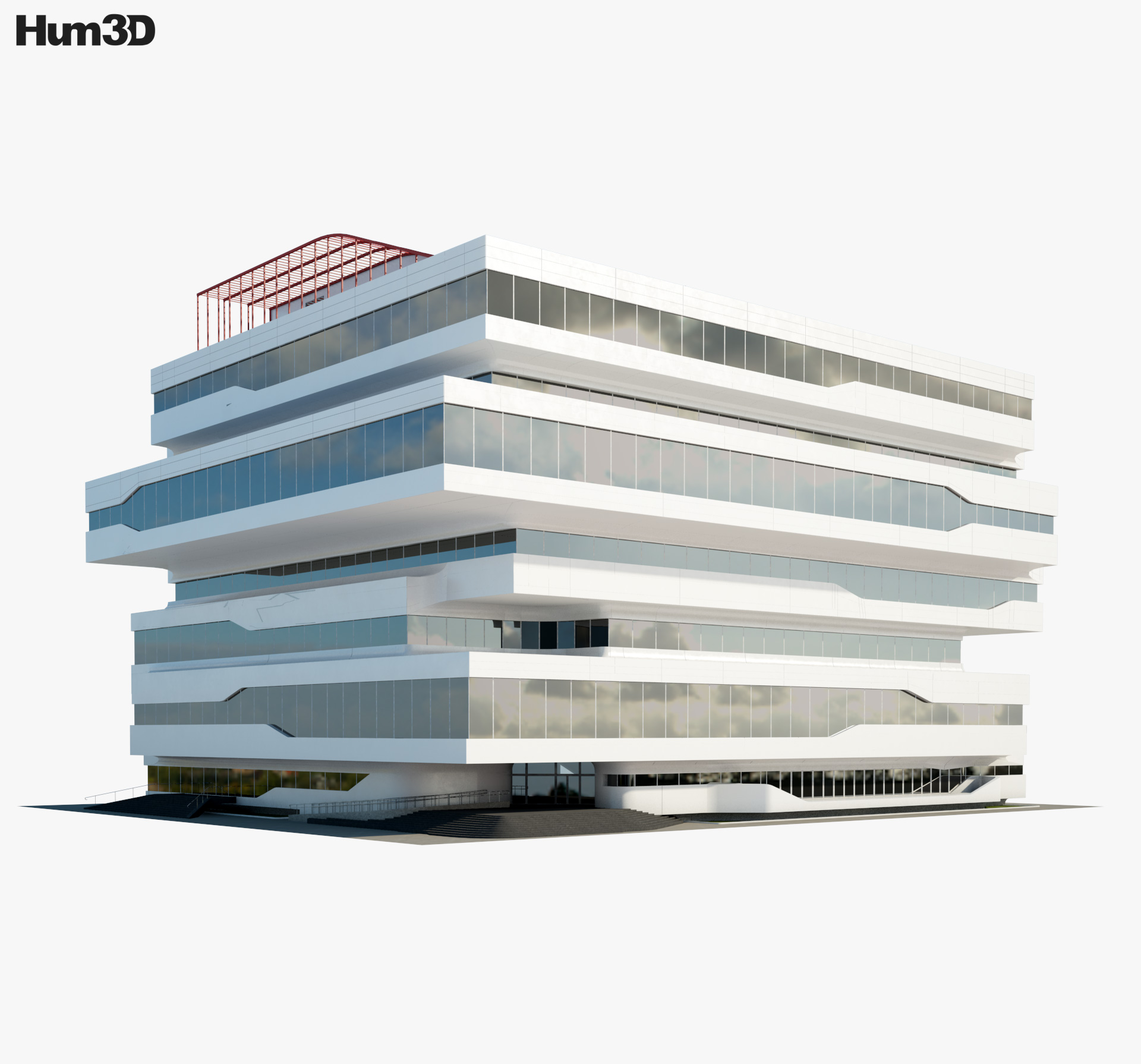 Dominion Office Building 3d model