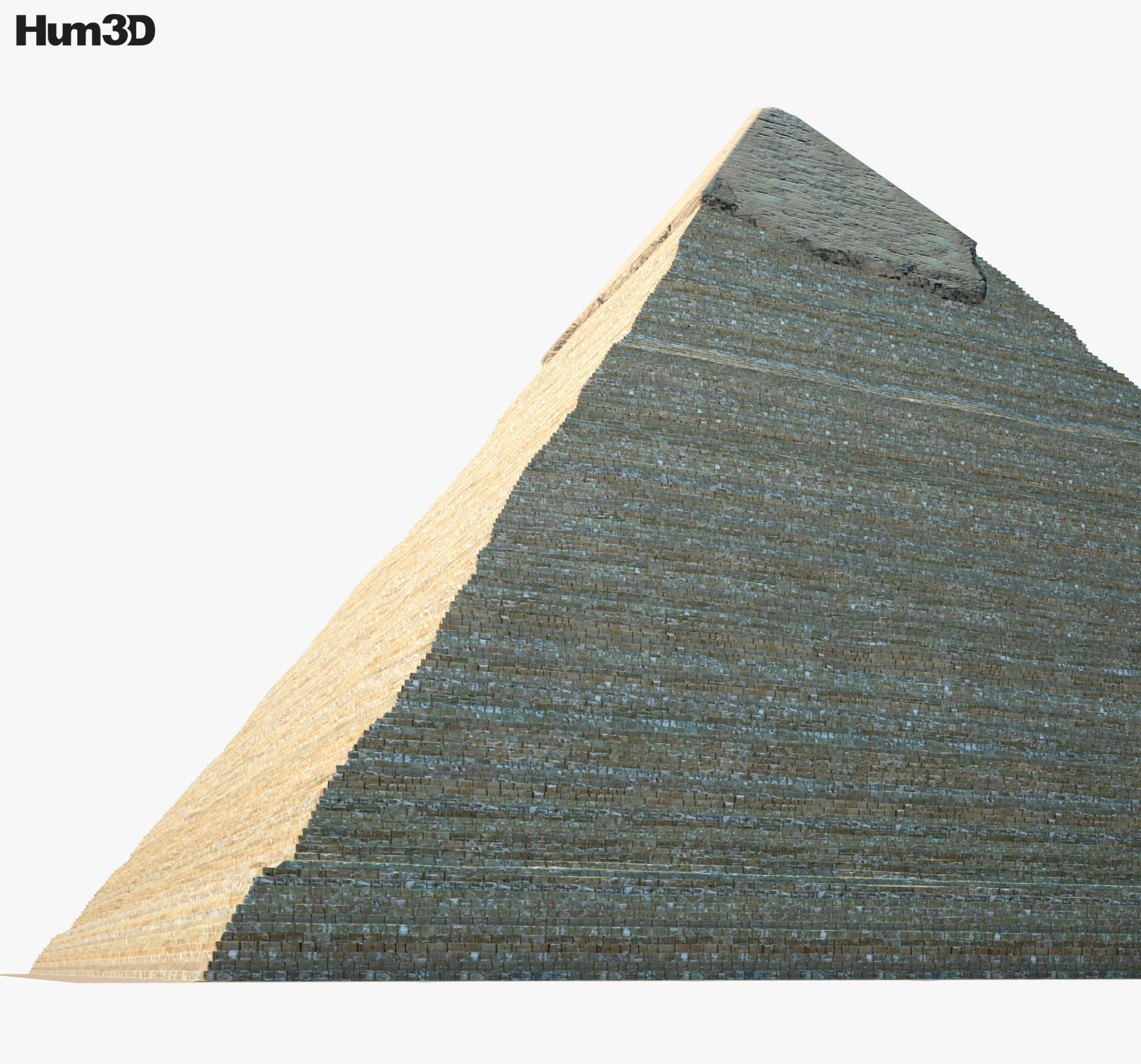 Pyramid of Khafre 3d model