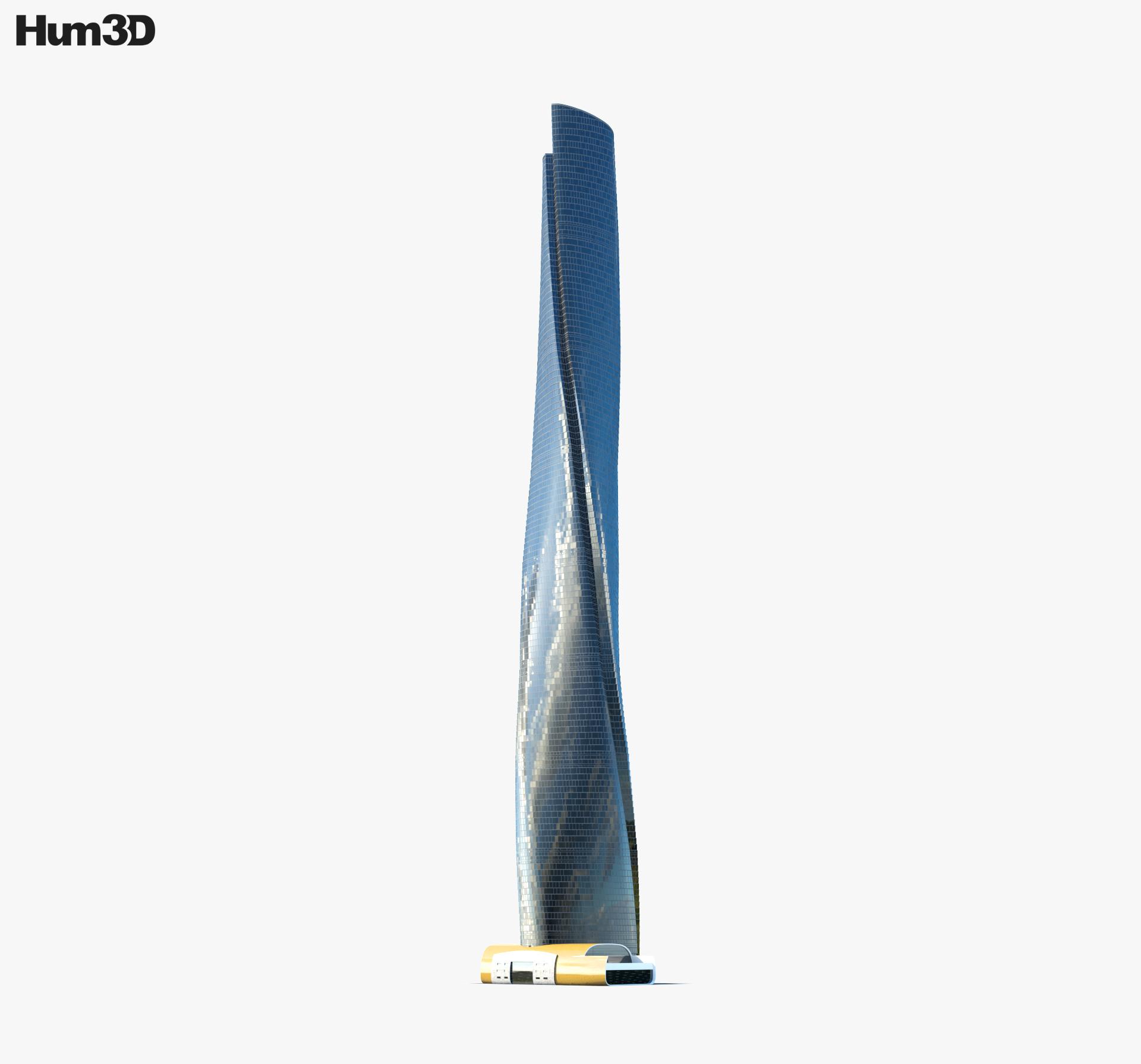 3D model of Shanghai Tower