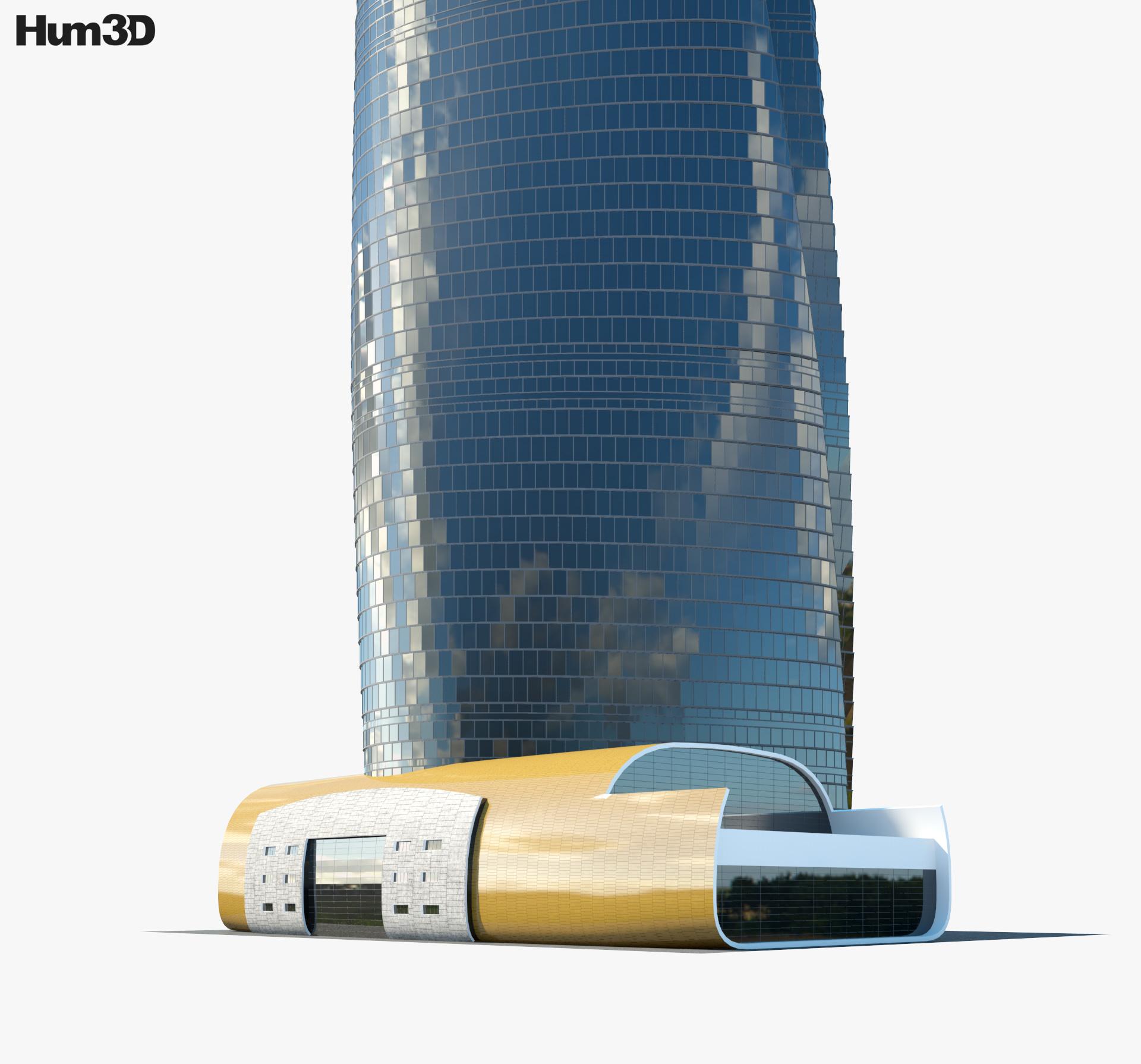 Shanghai Tower 3d model