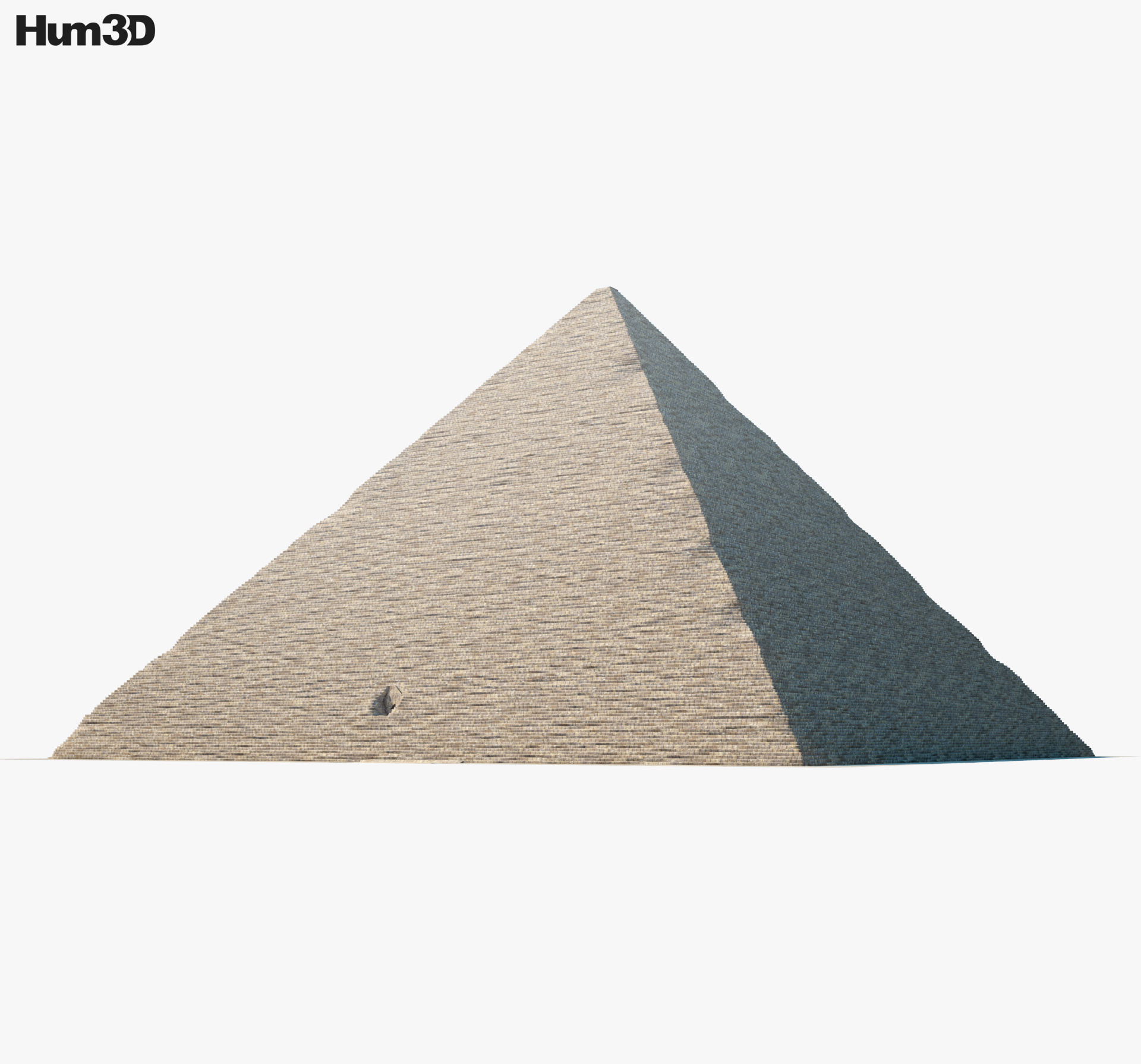 Pyramid of Cheops 3d model