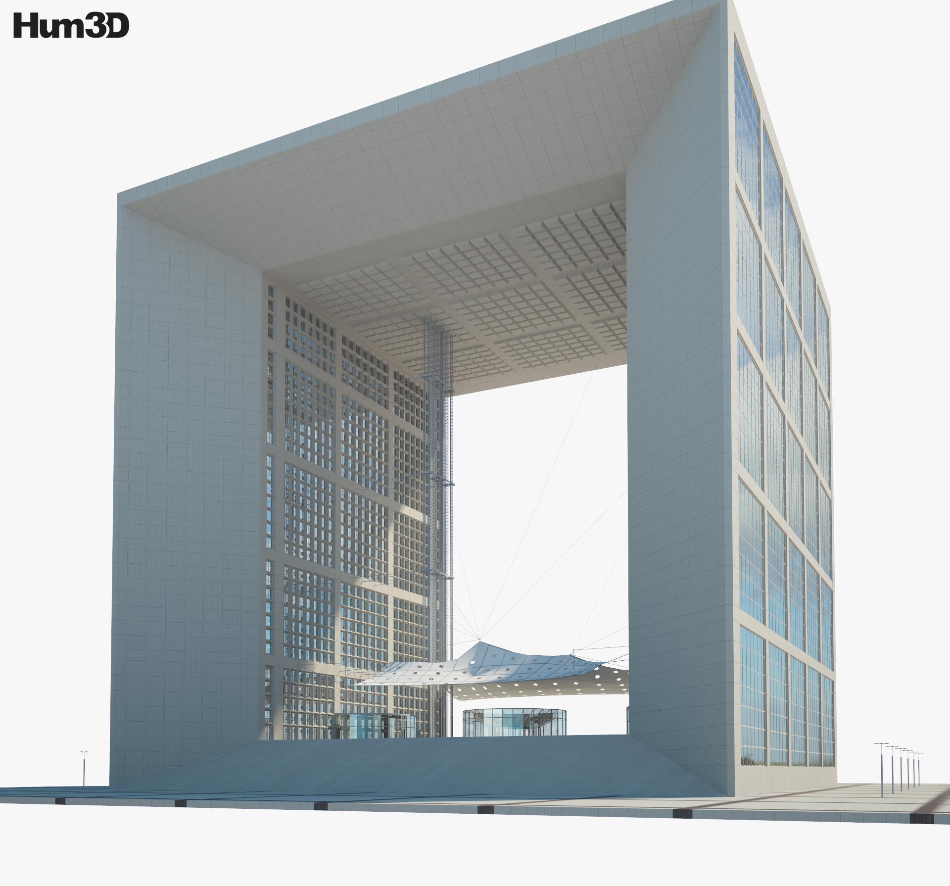 3D model of Grande Arche