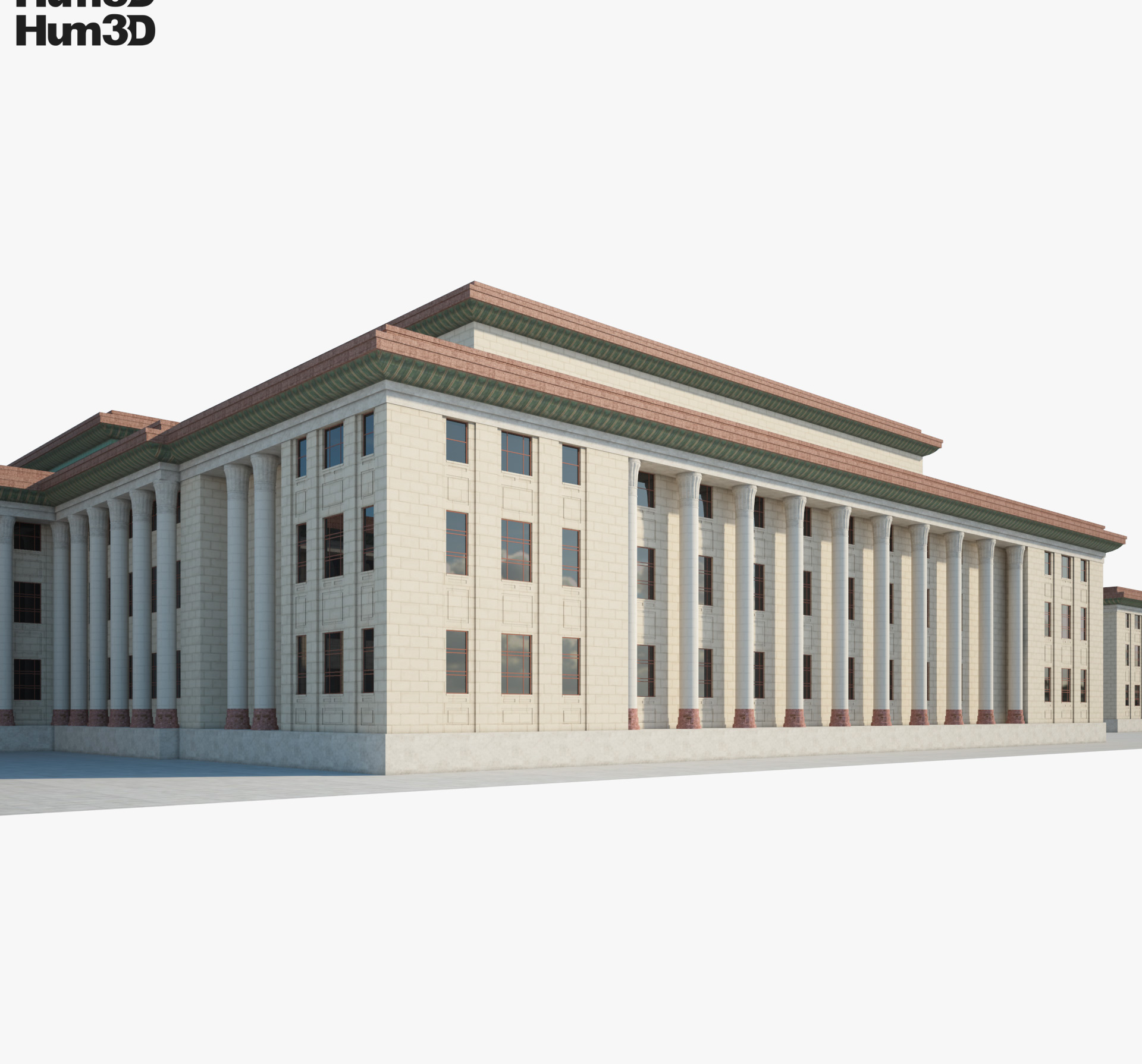 Great Hall of the People 3d model