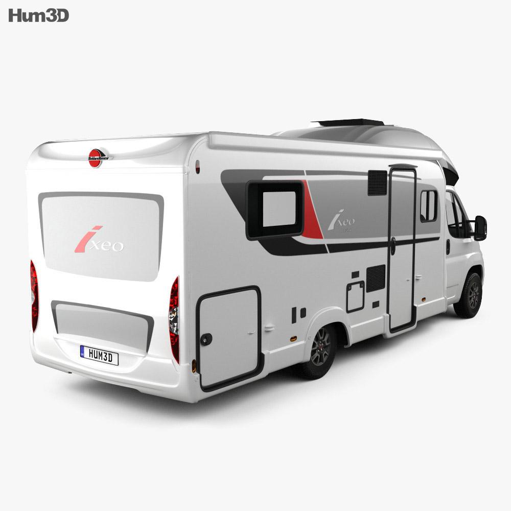 Burstner Ixeo IT 734 G 2016 3d model back view