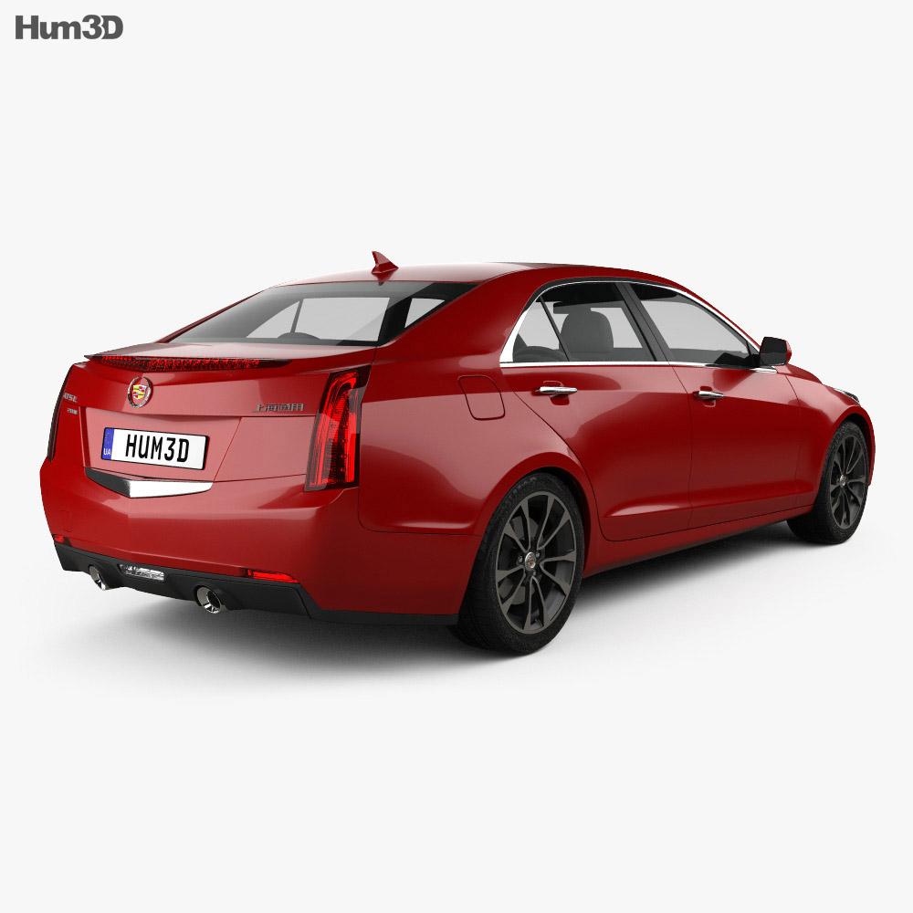 Cadillac ATS L 2015 3d model