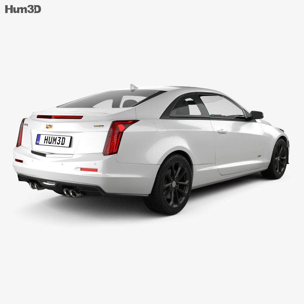 2017 Cadillac Cts V Driven: Cadillac ATS-V Coupe 2017 3D Model
