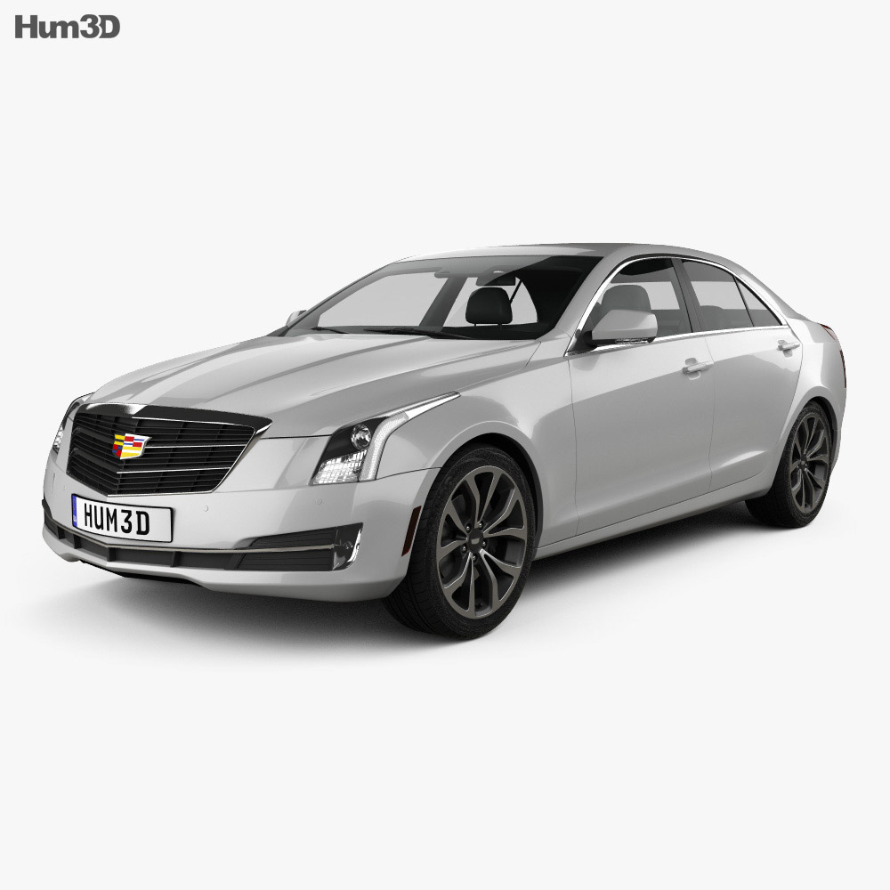 Cadillac ATS Premium Performance Sedan 2017 3D Model