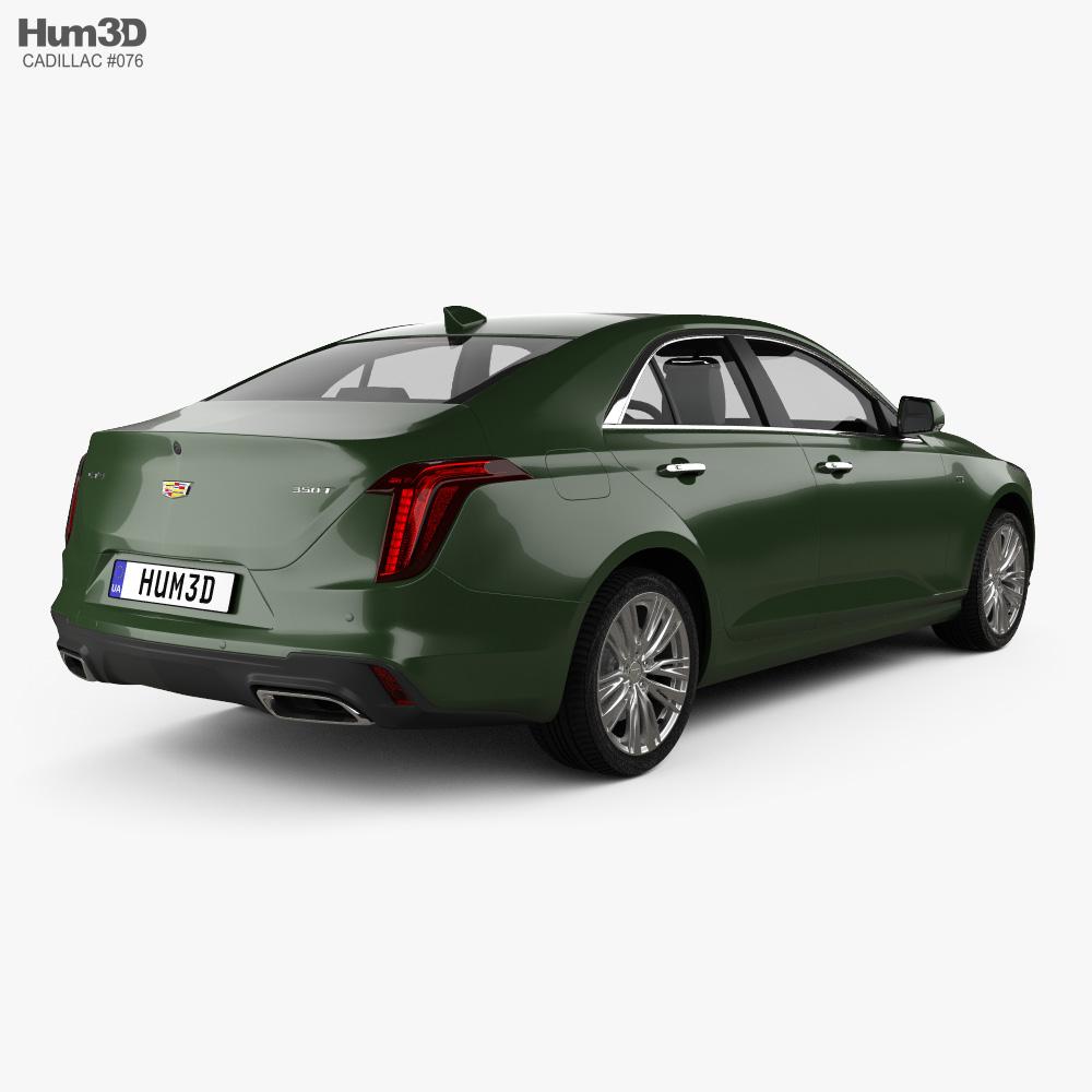 Cadillac CT4 2020 3d model
