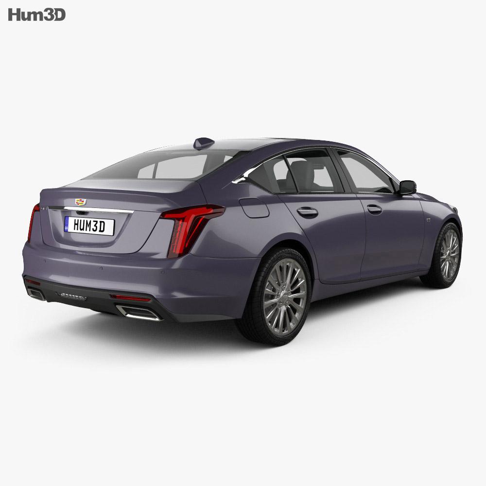 Cadillac CT5 2020 3d model