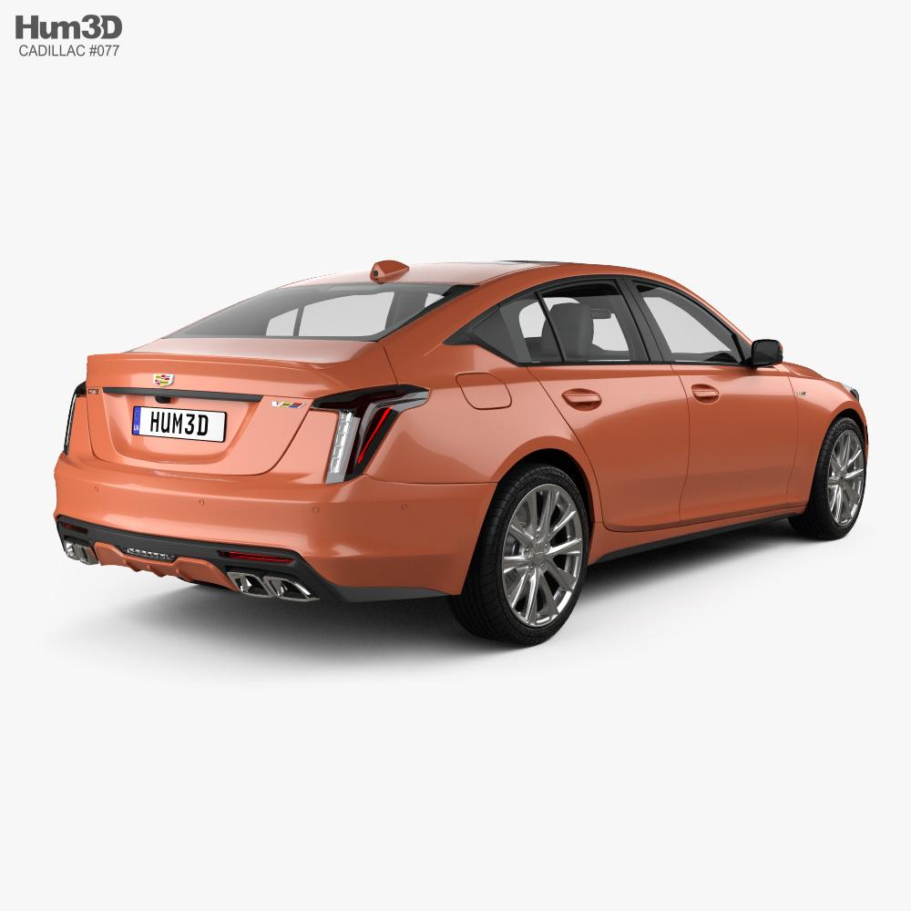2016 2020 Cadillac Cts V Upgrades: Cadillac CT5 V 2020 3D Model