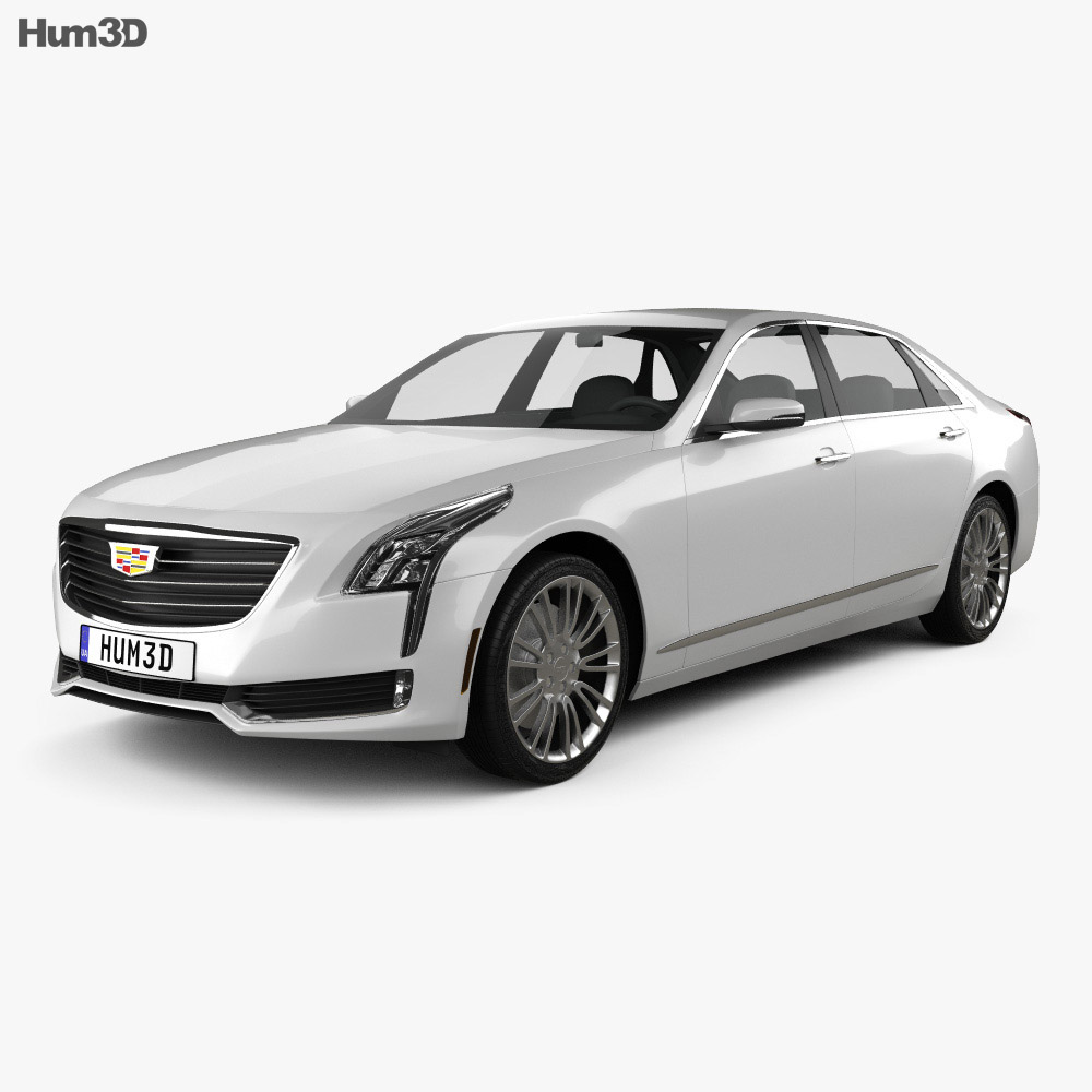 cadillac ct6 2016 3d model hum3d. Black Bedroom Furniture Sets. Home Design Ideas