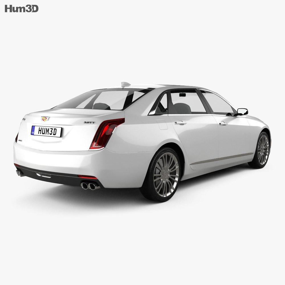 Cadillac CT6 2016 3d model