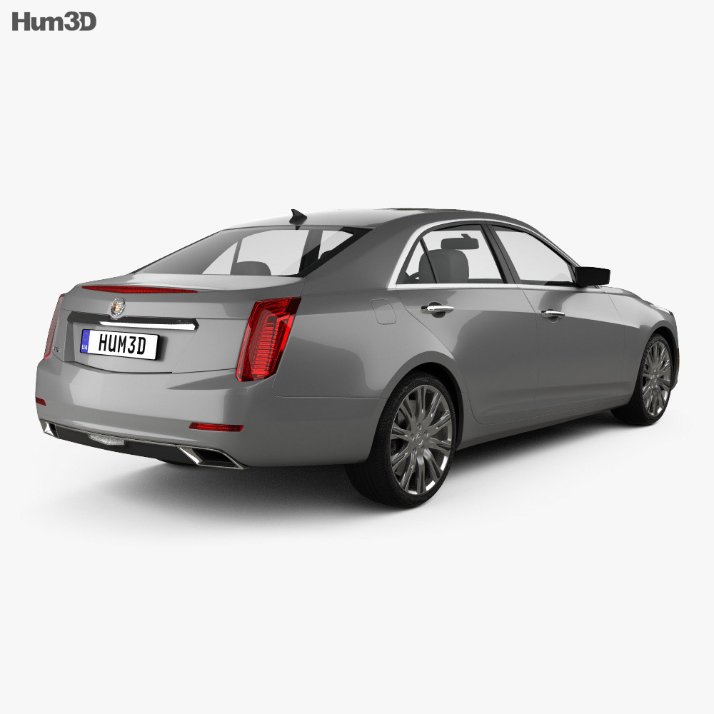 2014 Cars Cadillac Cts Use: Cadillac CTS 2014 3D Model